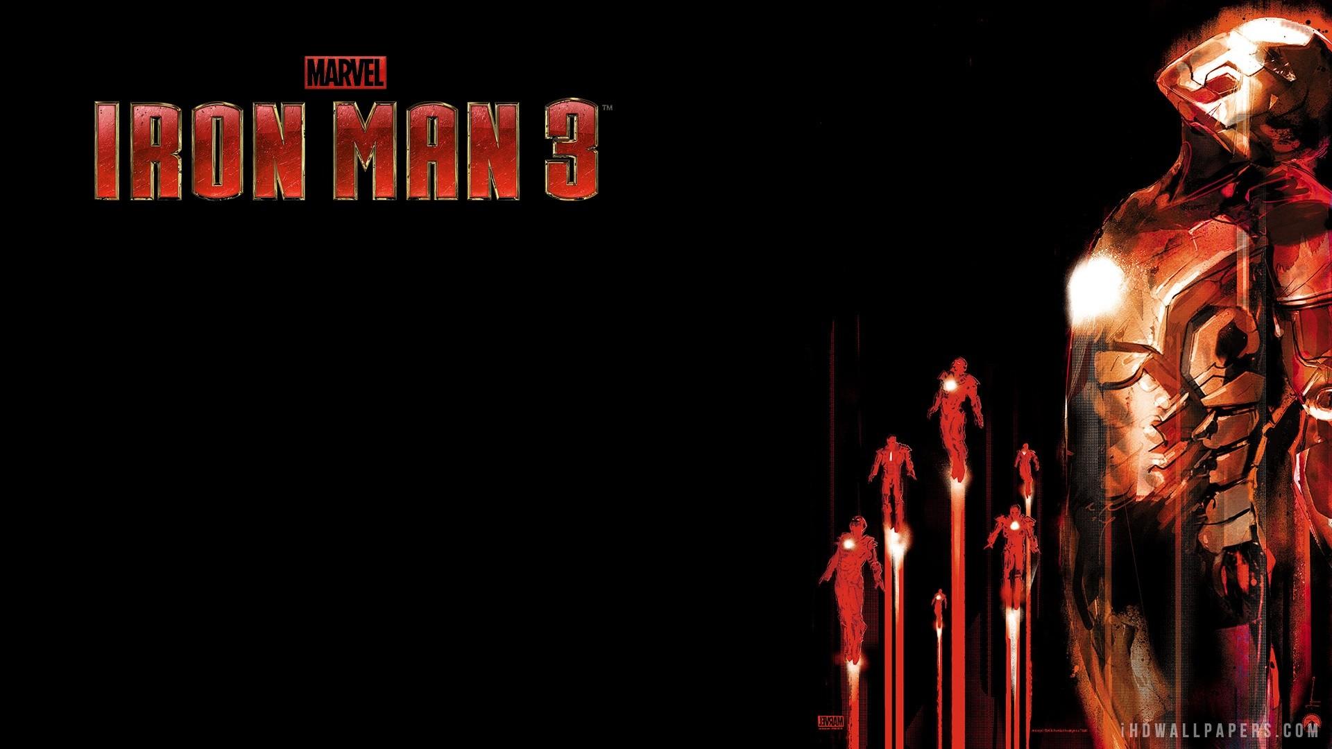 Iron Man 3 IMAX 3D HD 1080p Wallpapers