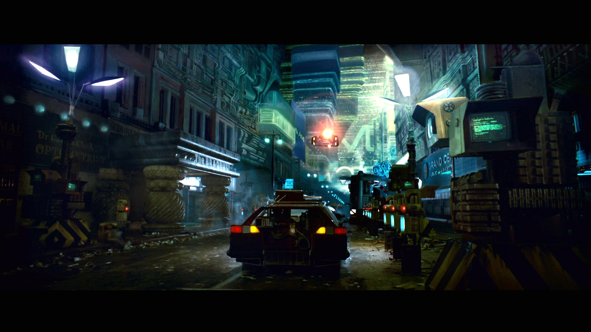 BLADE RUNNER drama sci-Fi thriller action city fs wallpaper background