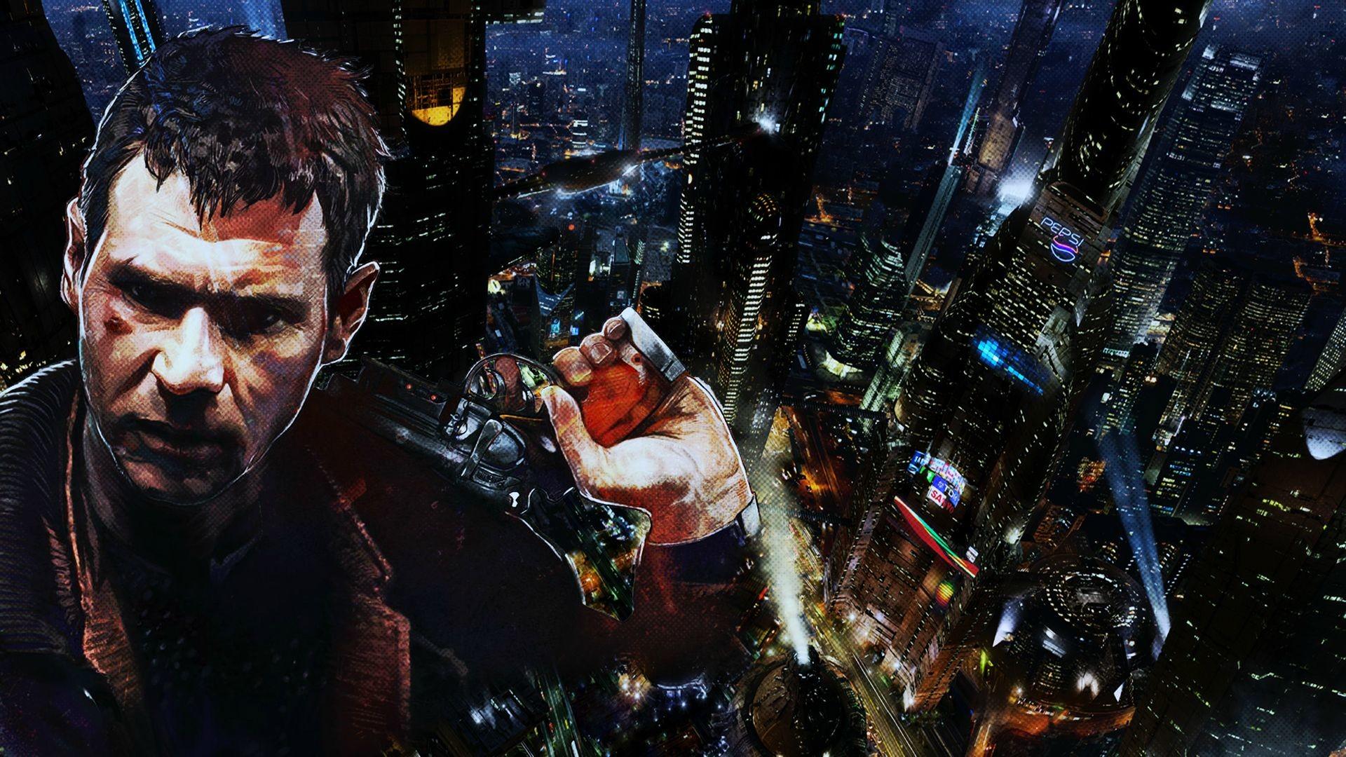 BLADE RUNNER drama sci-Fi thriller action city weapon gun dg wallpaper |  | 224091 | WallpaperUP
