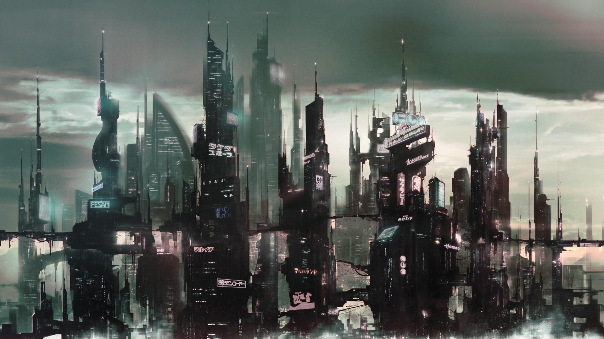Futuristic City Wallpaper 3
