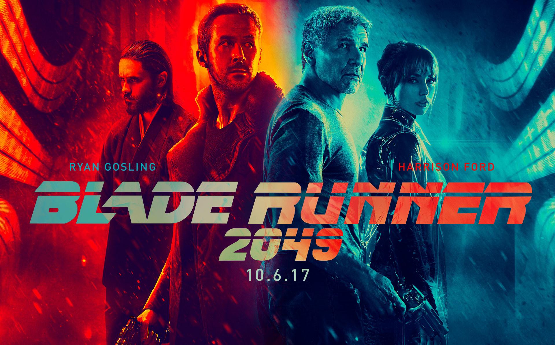 Movie – Blade Runner 2049 Neon Harrison Ford Ryan Gosling Ana de Armas  Jared Leto Wallpaper
