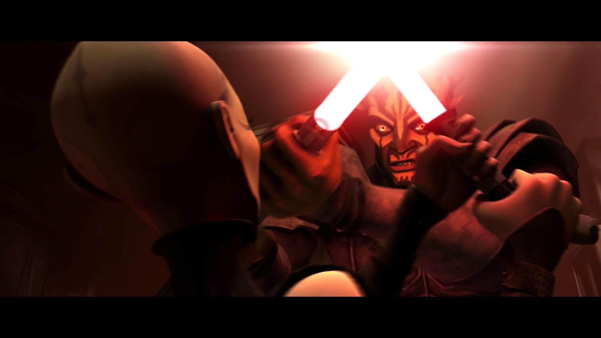 Star Wars: The Clone Wars – Obi-Wan Kenobi & Asajj Ventress vs Darth Maul &  Savage Opress [1080p] – YouTube