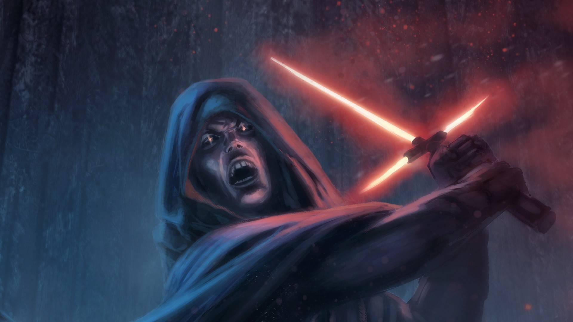 Preview wallpaper star wars episode vii – the force awakens, sith,  lightsaber 1920×1080