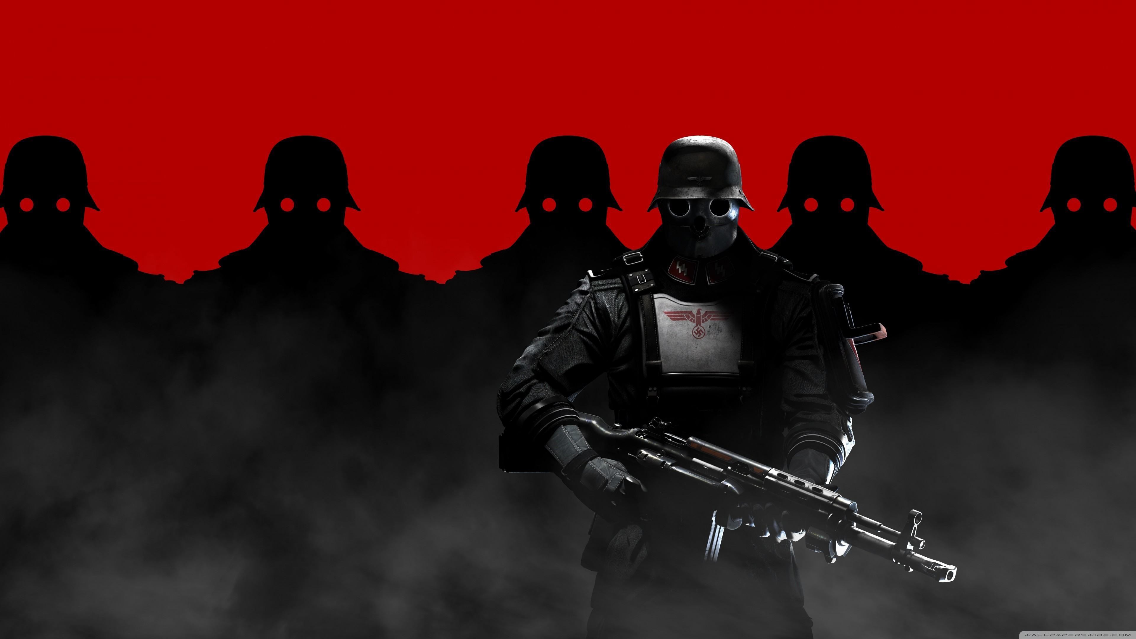Wolfenstein The New Order Soldiers HD desktop wallpaper … Darth Maul  Wallpaper 1920×1080