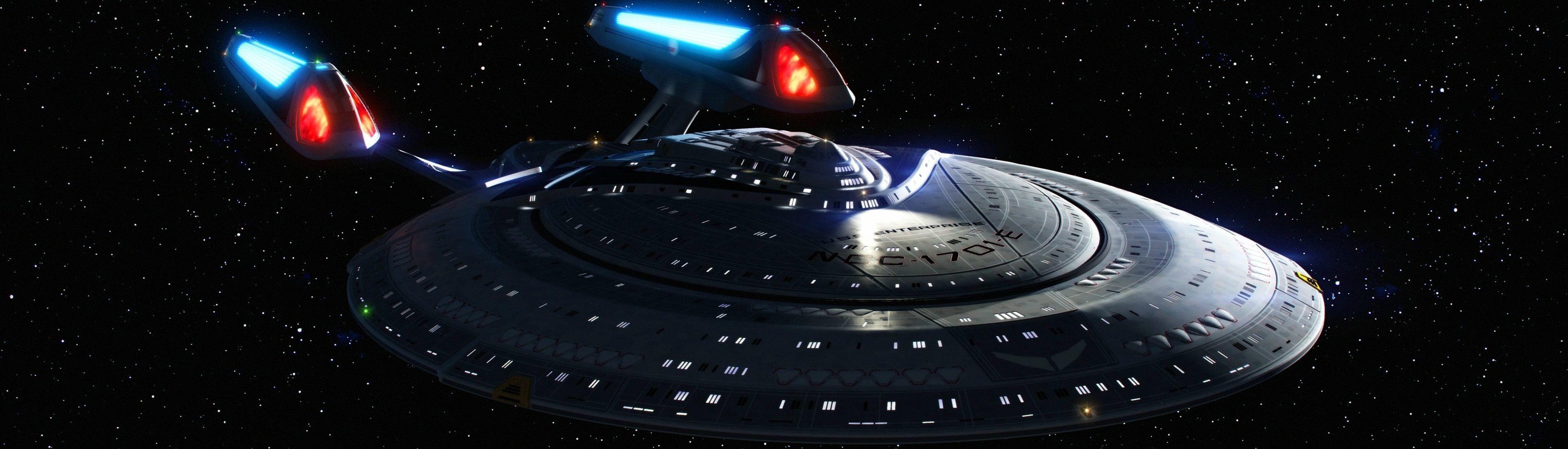 Enterprise E (Dual Screen Wallpaper)