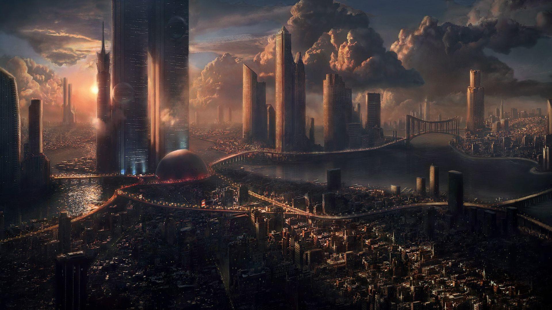 Explore City Wallpaper, Sci Fi Wallpaper, and more!