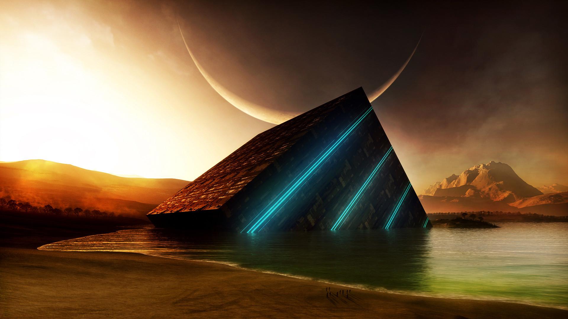 Explore and share Sci Fi Landscape Wallpaper HD on WallpaperSafari