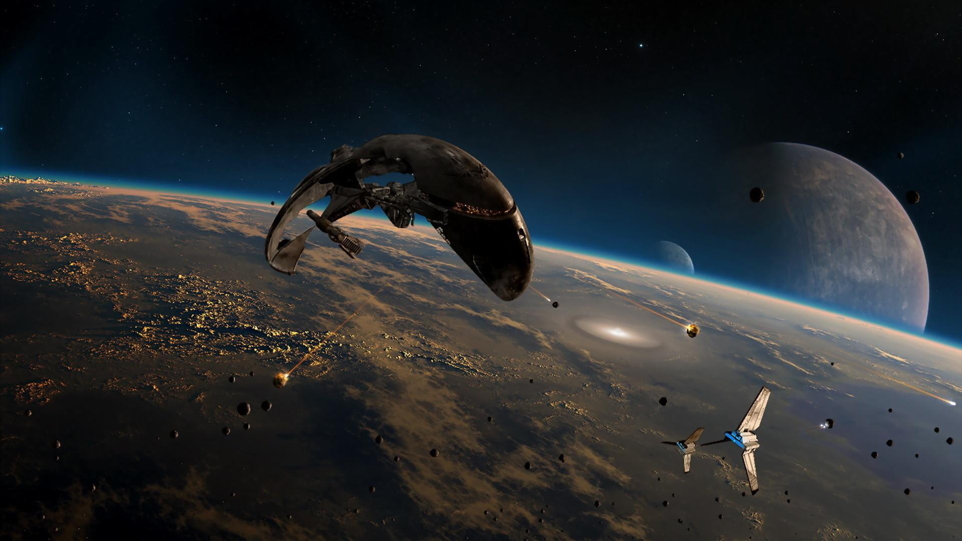 High Resolution Amazing Fantasy Sci Fi Space Wallpaper HD 2 Full .