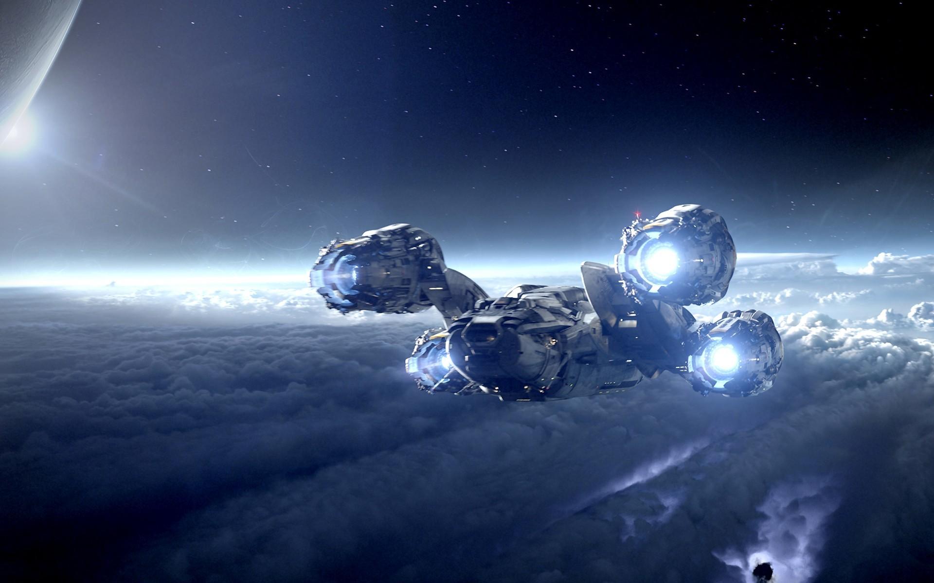 Movie – Prometheus Spaceship Sci Fi Wallpaper