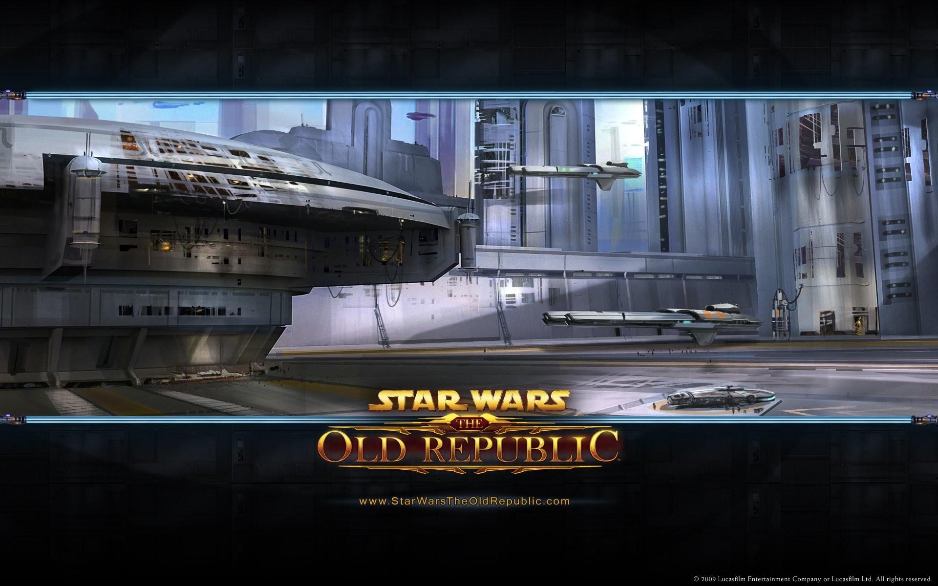 Star Wars Coruscant …