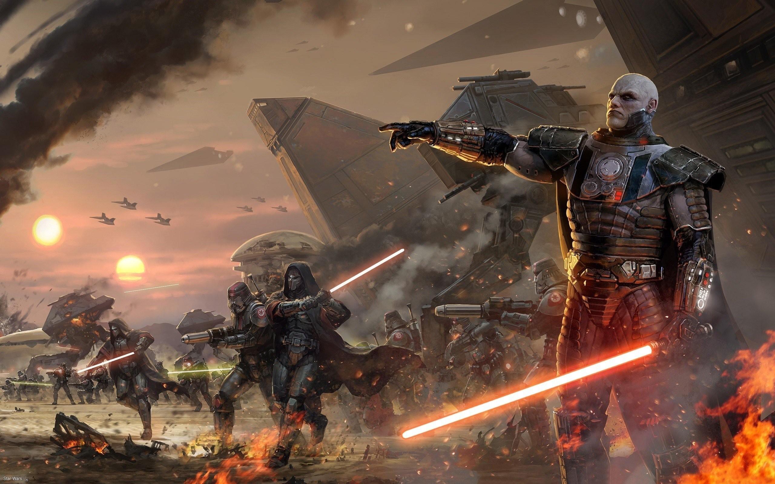 Star Wars lightsabers Sith artwork Star Wars: The Old Republic Coruscant  Darth Malgus wallpaper     275600   WallpaperUP