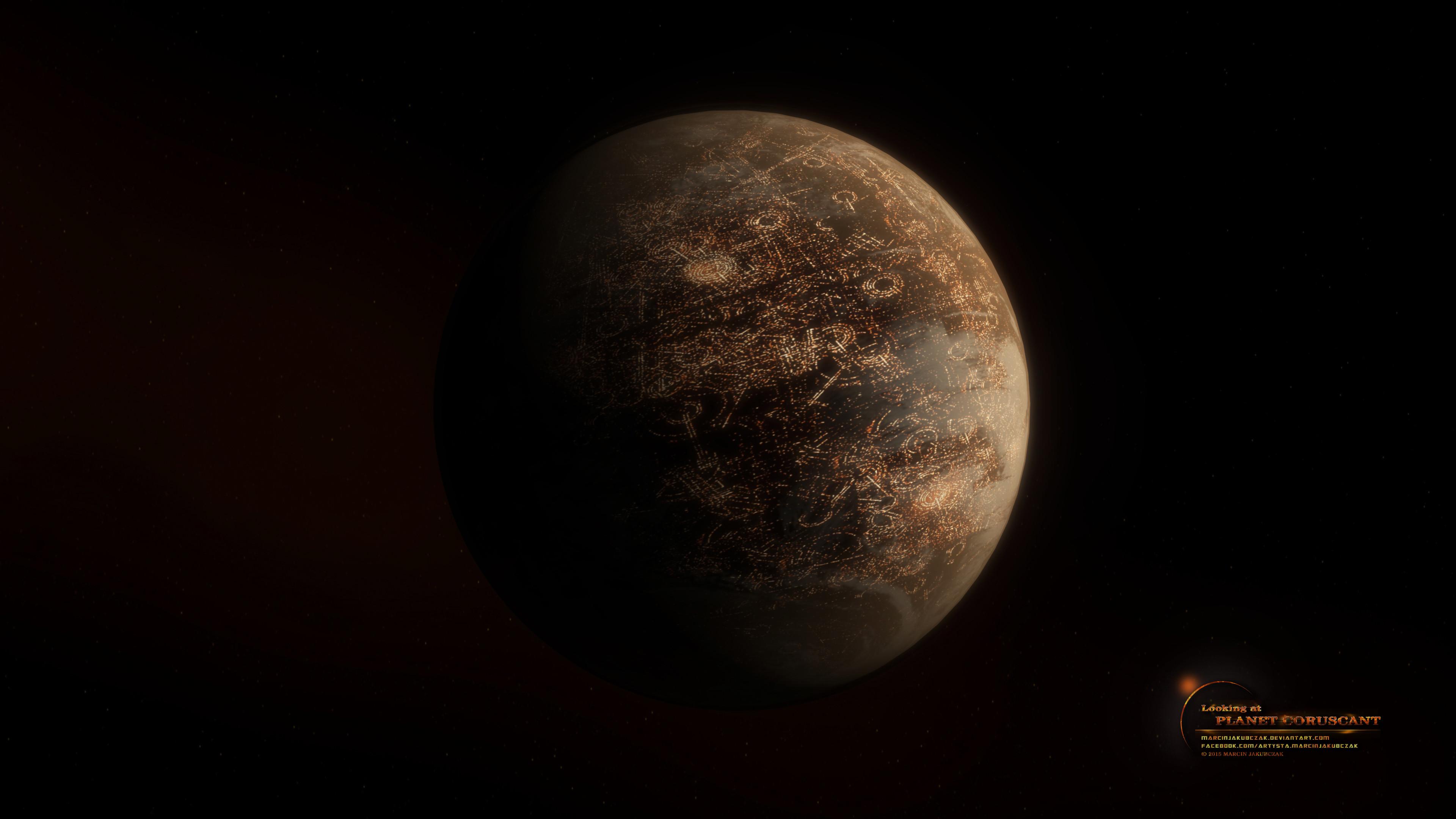 Coruscant Planet