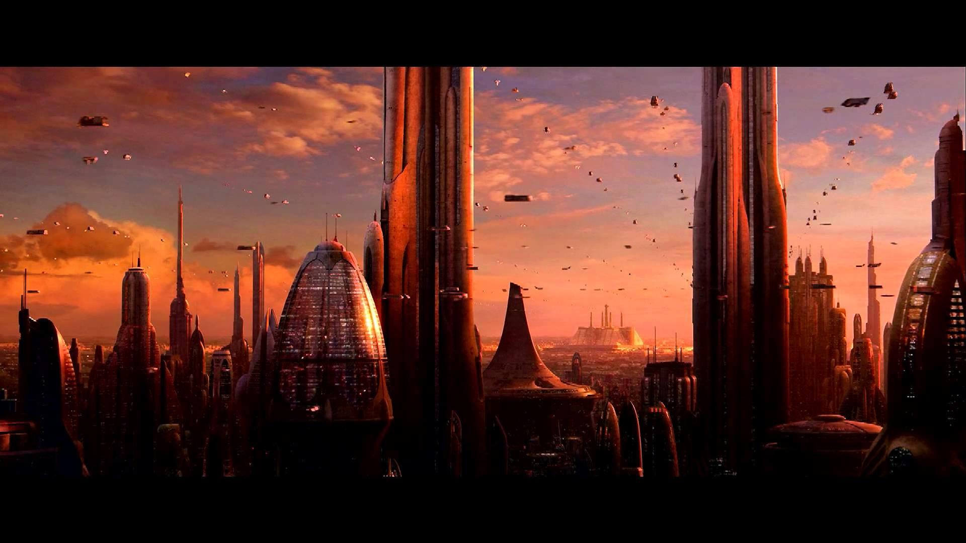 Council Chamber, Coruscant – Sunset: Take 2