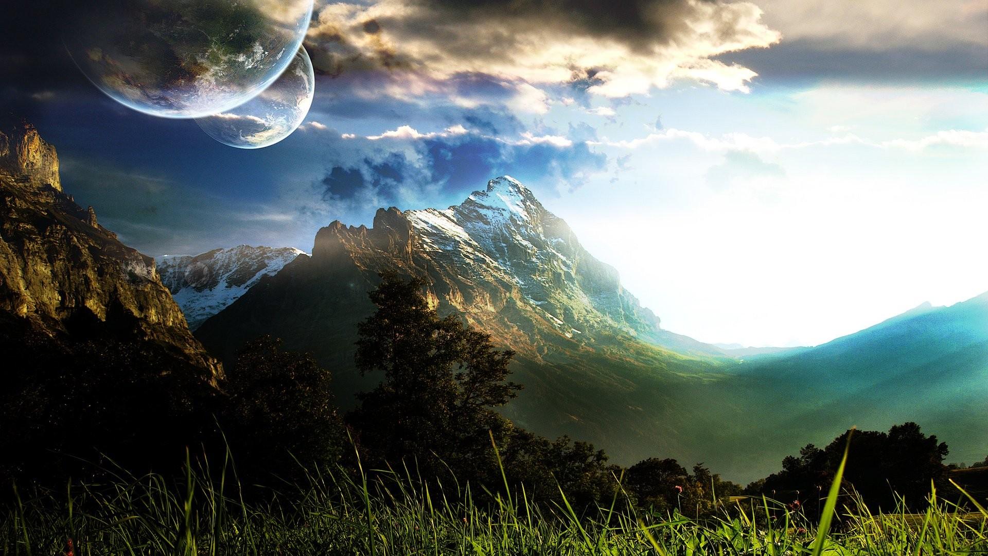 HD Wallpaper   Background ID:83704. Sci Fi Landscape. 96 Like
