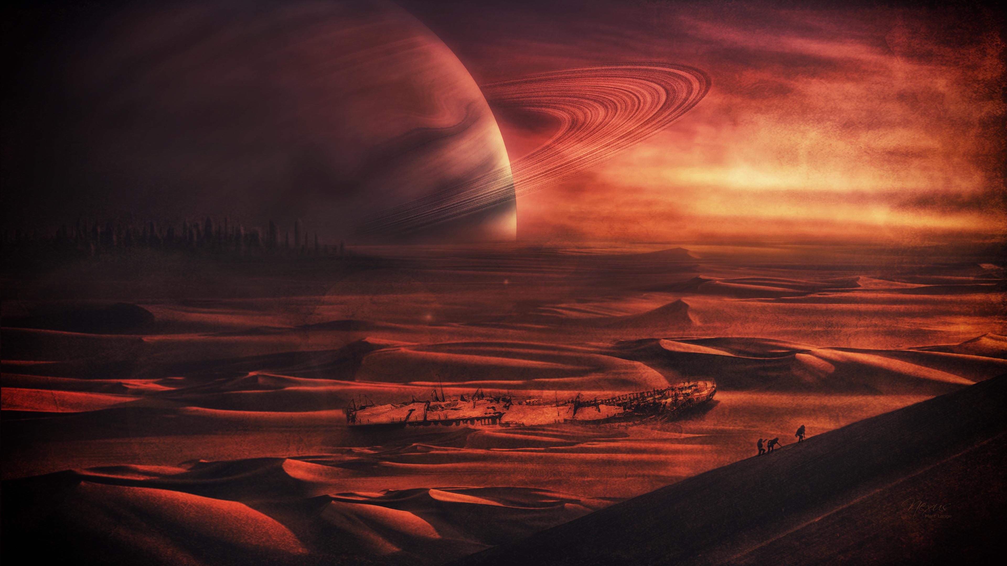 HD Wallpaper   Background ID:563396. Sci Fi Landscape. 33 Like
