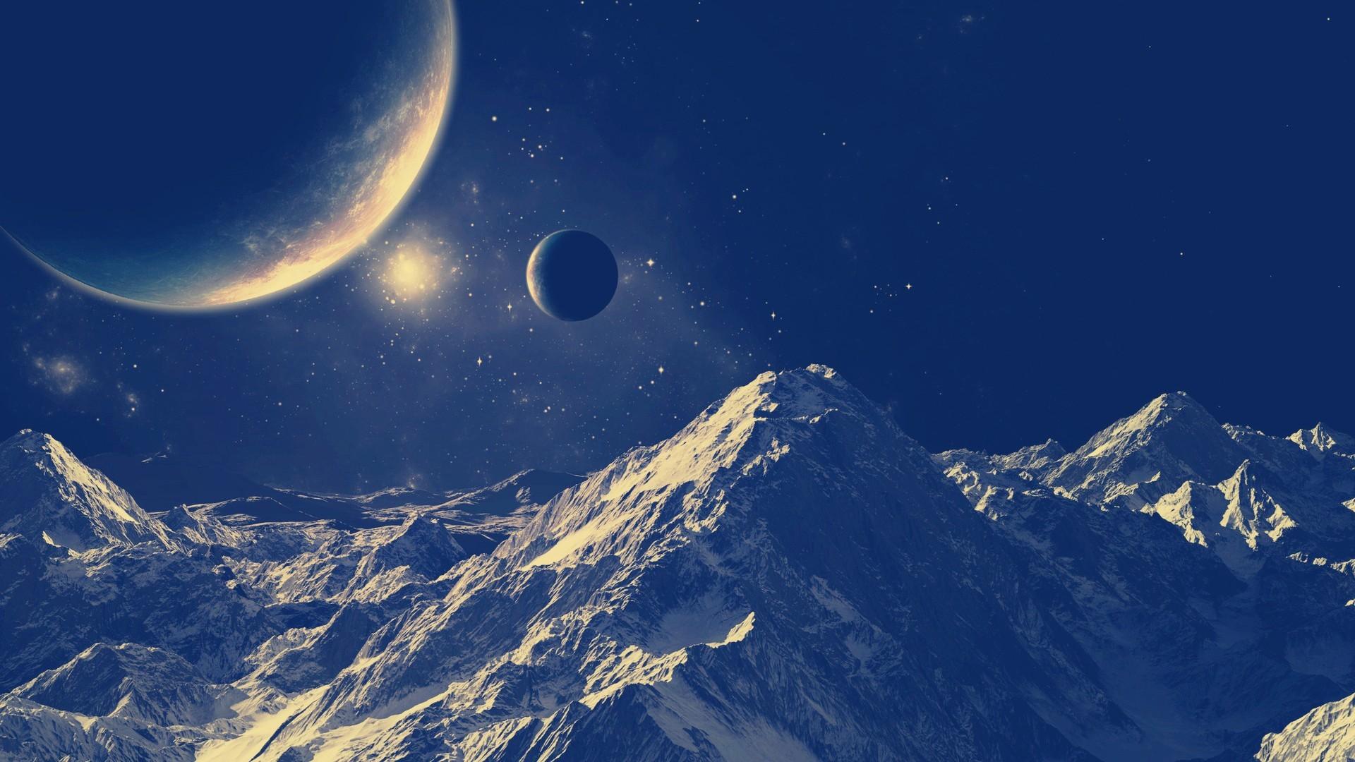 sci fi planet landscape – photo #13. Landscape Computer Wallpapers, Desktop  Backgrounds .
