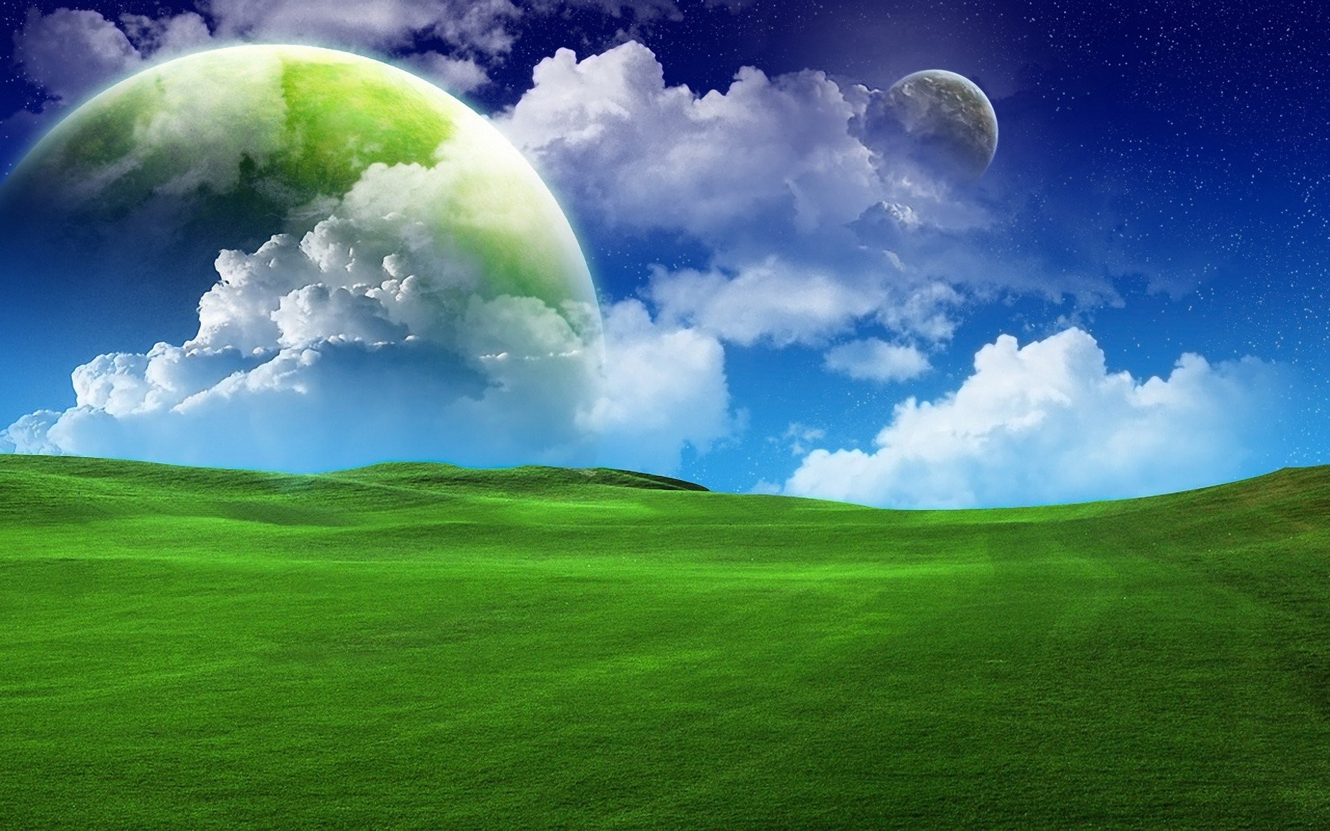 HD Wallpaper   Background ID:86638. Sci Fi Landscape. 49 Like.  Favorite
