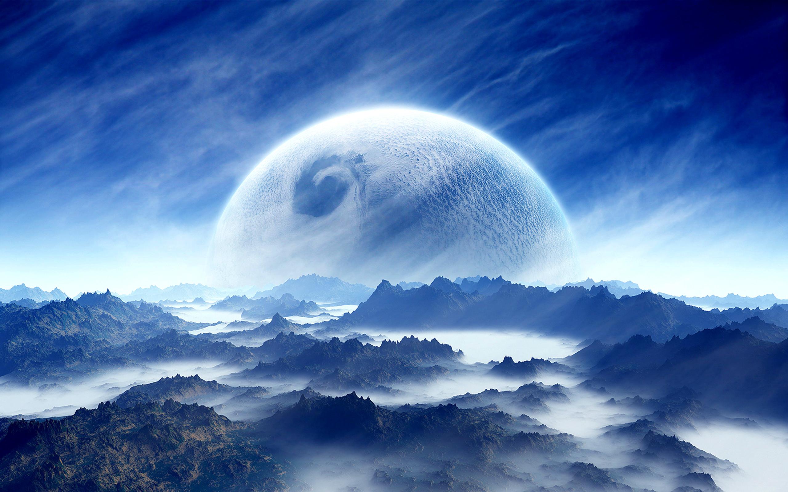 HD Wallpaper   Background ID:121793. Sci Fi Planet Rise. 91 Like