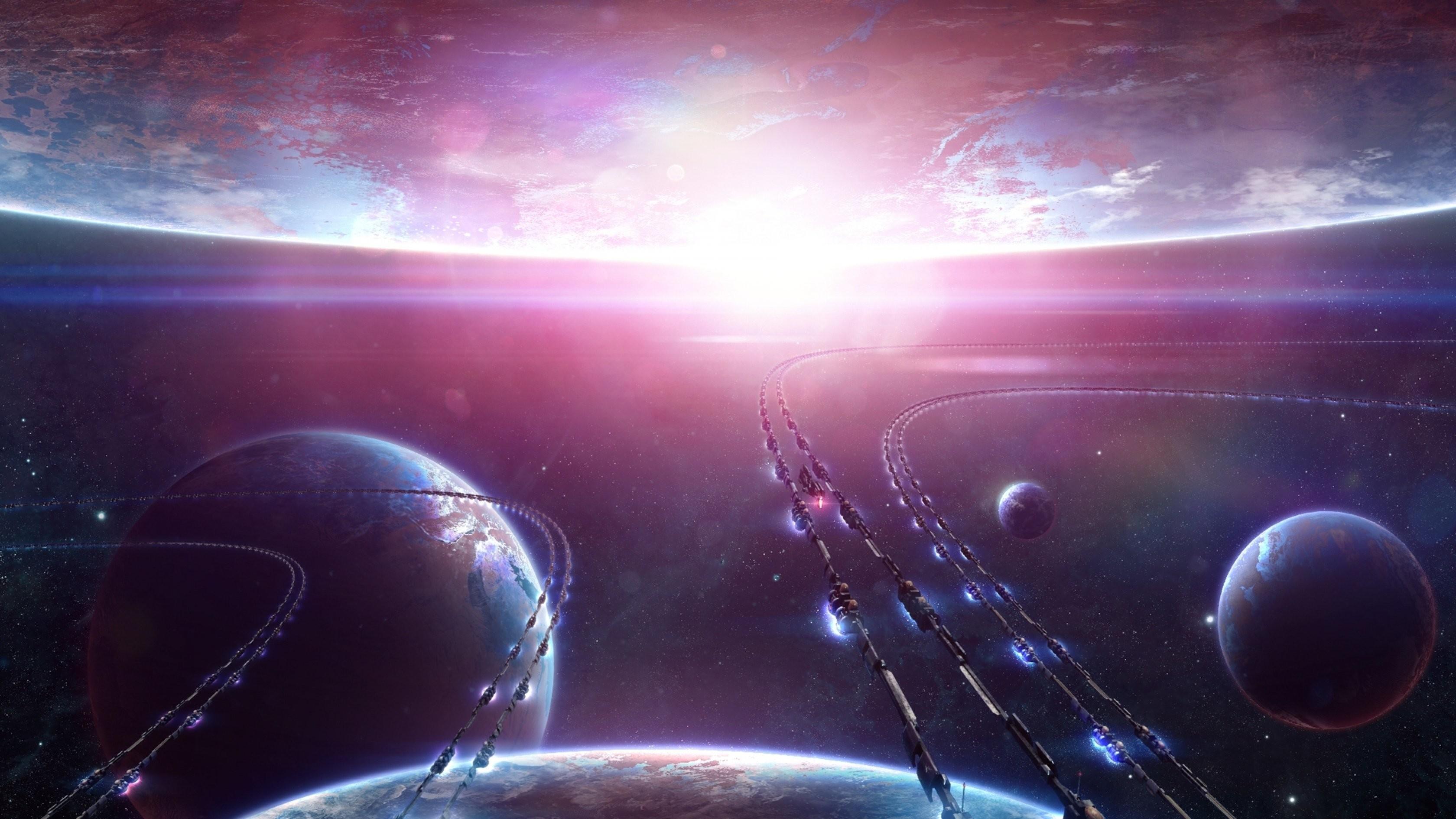 Planetscape sci-fi planet landscape space art artwork wallpaper      660349   WallpaperUP