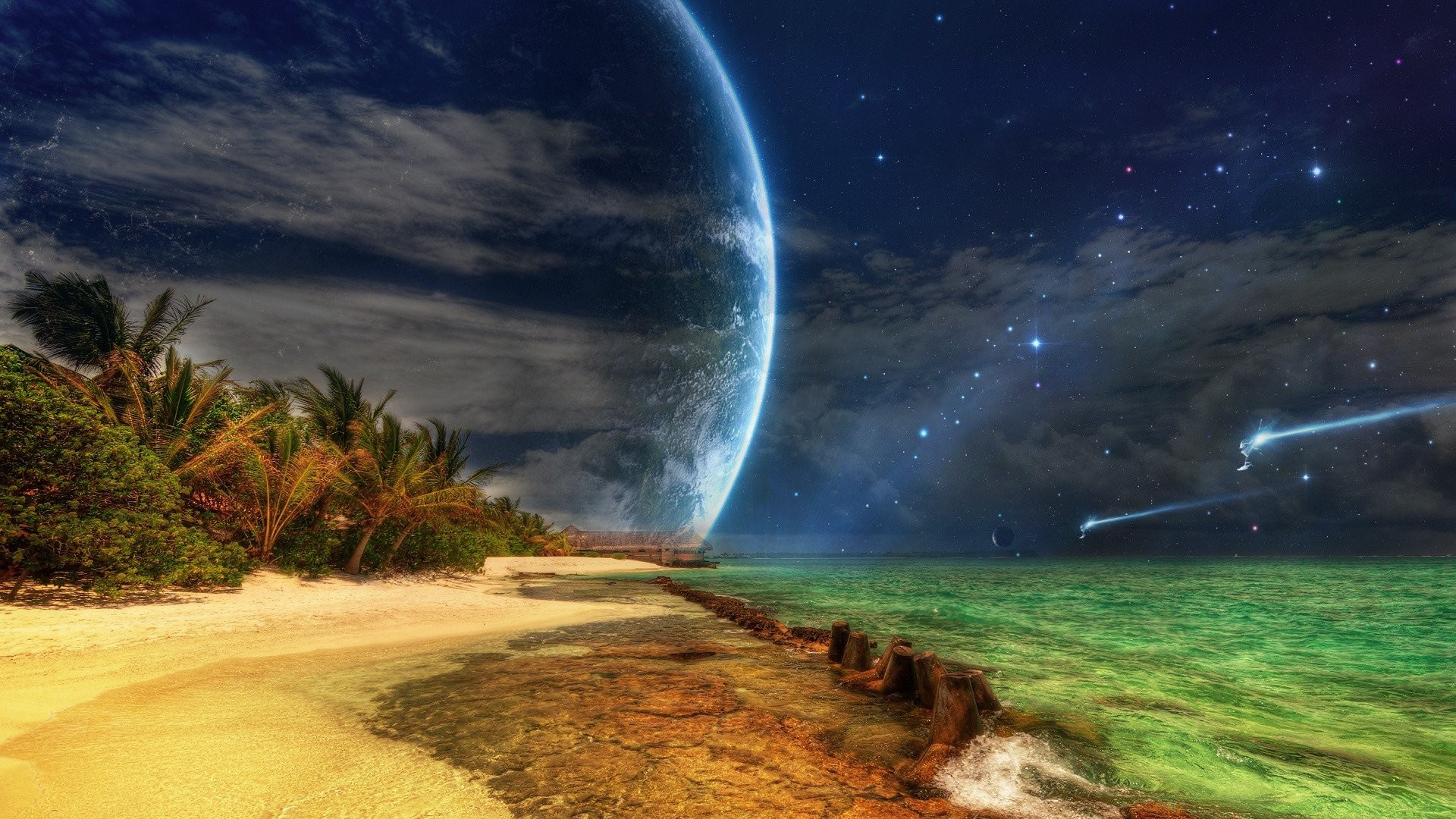 Landscapes Outer Space Photo Manipulation Planets Science Fiction