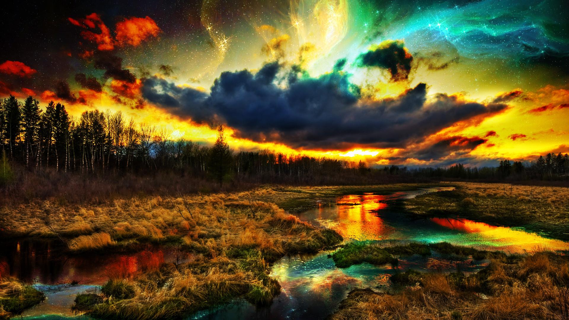 … Sci-Fi Landscape Wallpaper by NIHILUSDESIGNS