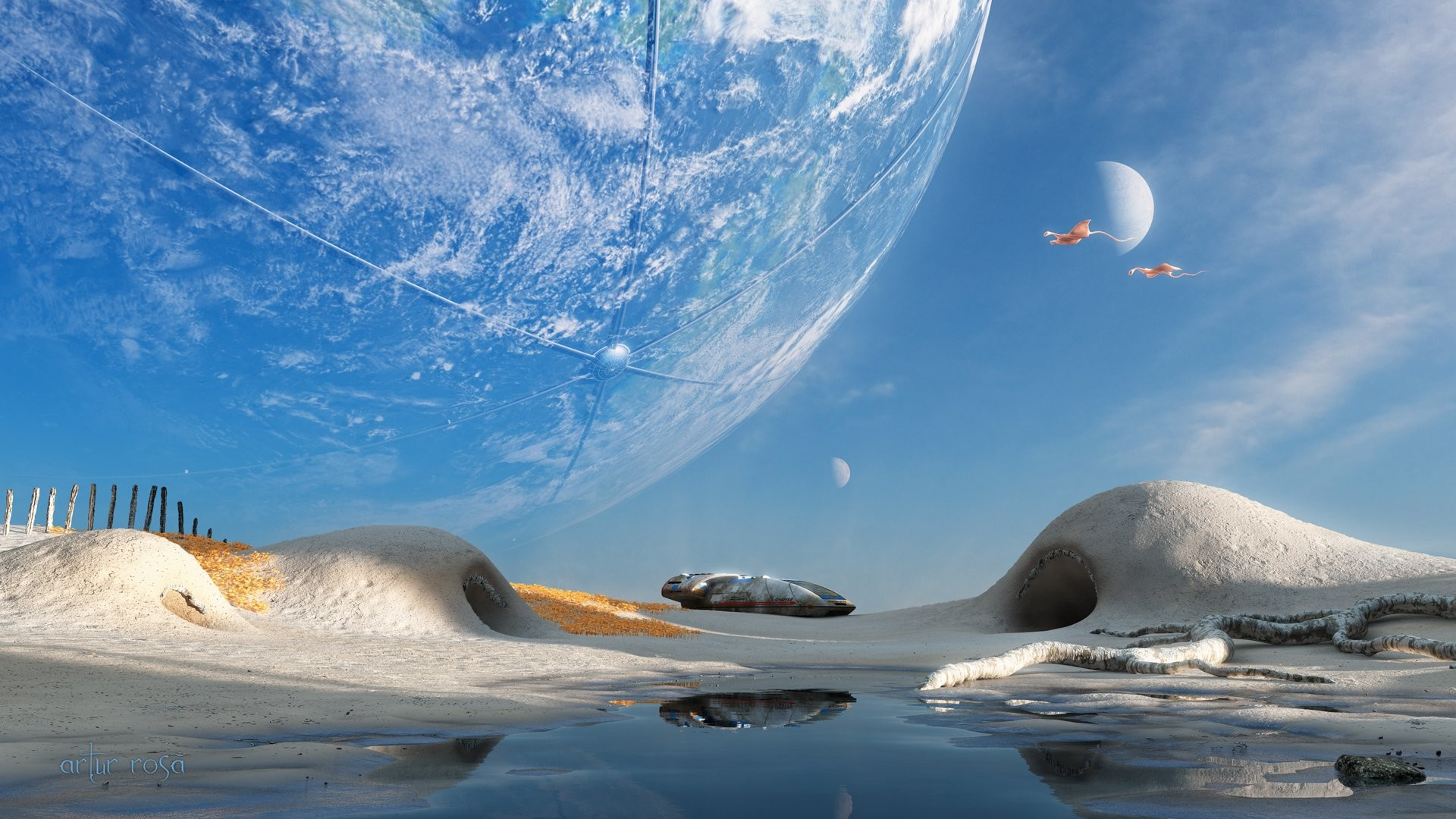 Image for Fantasy Landscape Space Wallpaper 2014 HD   I NEED THIS SHIT    Pinterest   Sci fi, Wallpaper and Robot