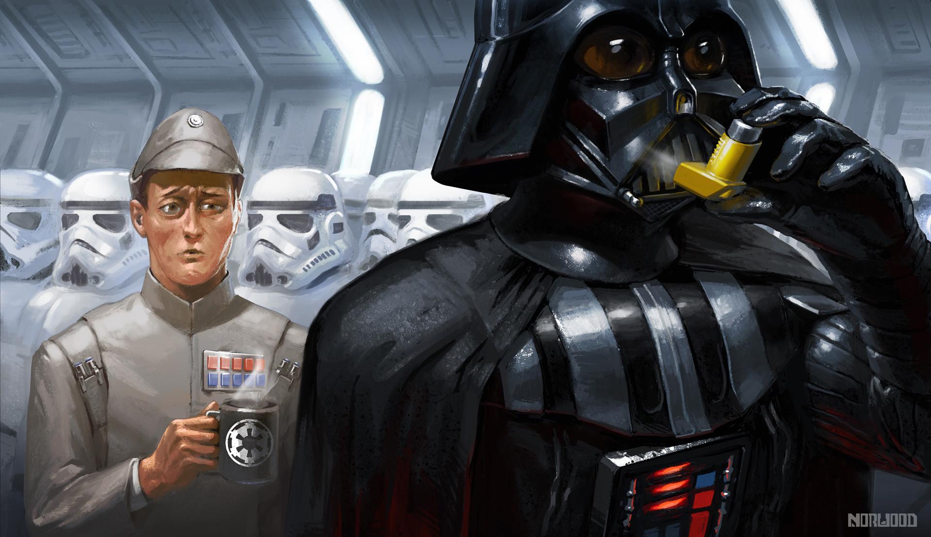 Asthmatic Vader