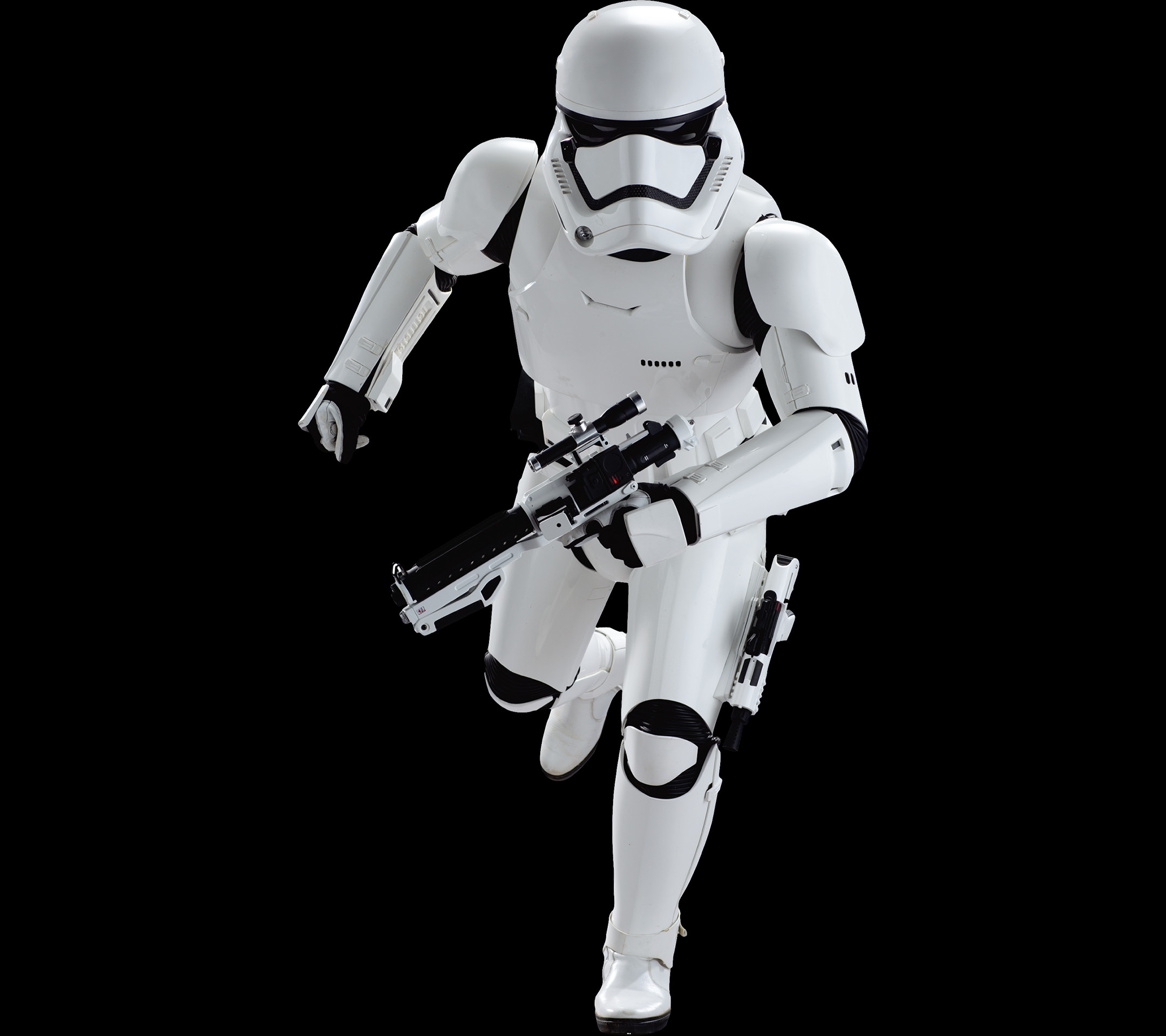 … Stormtrooper running in Star Wars: Episode VII – The Force A Movie  mobile wallpaper
