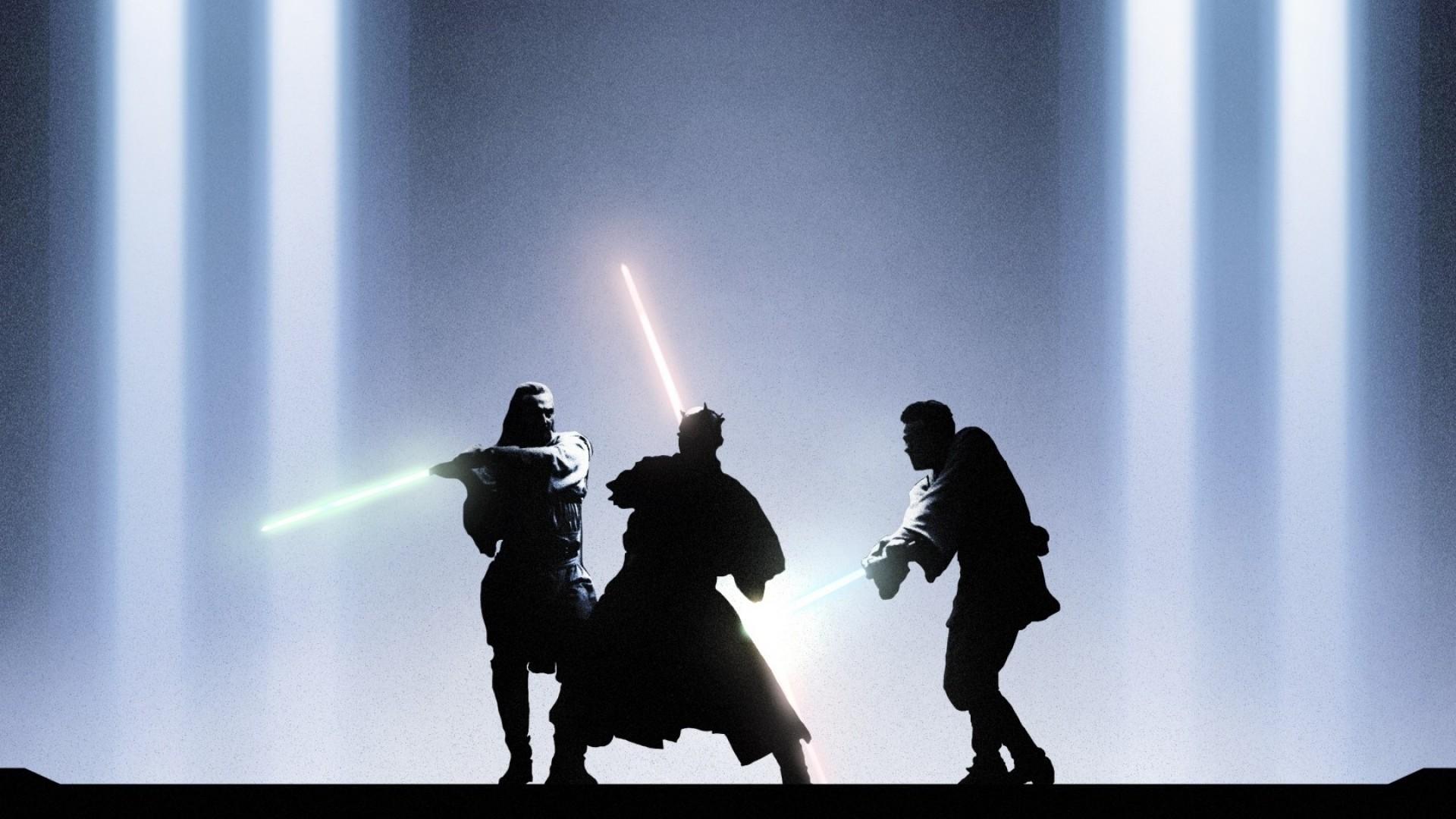 Preview wallpaper star wars, episode i, the phantom menace, qui-gon jinn