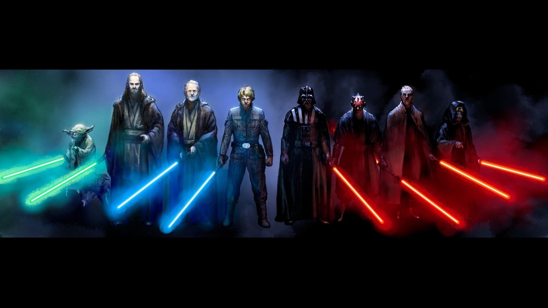 Star Wars, Luke Skywalker, Darth Vader, Darth Maul, Obi Wan Kenobi, Yoda  Wallpapers HD / Desktop and Mobile Backgrounds