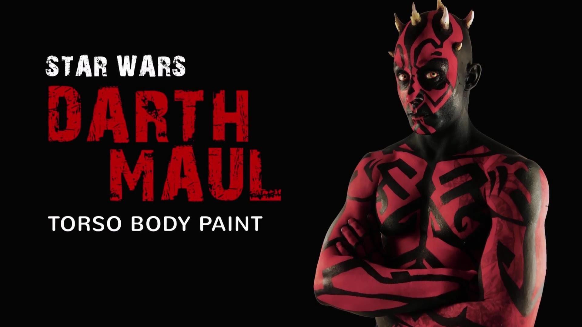 Darth Maul – Bodypaint by Zombunny FX