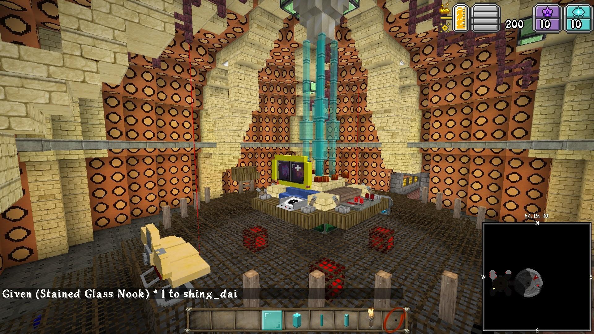 Add media Report RSS TARDIS interior (view original)