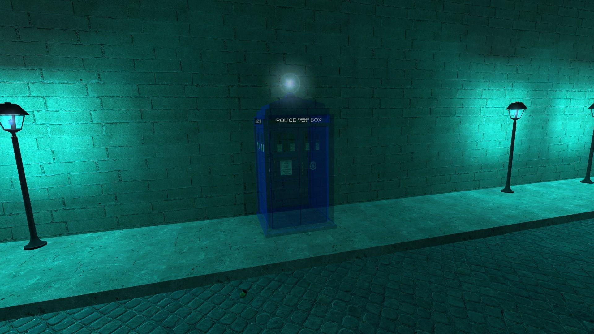 … Gmod TARDIS Interior v1 …