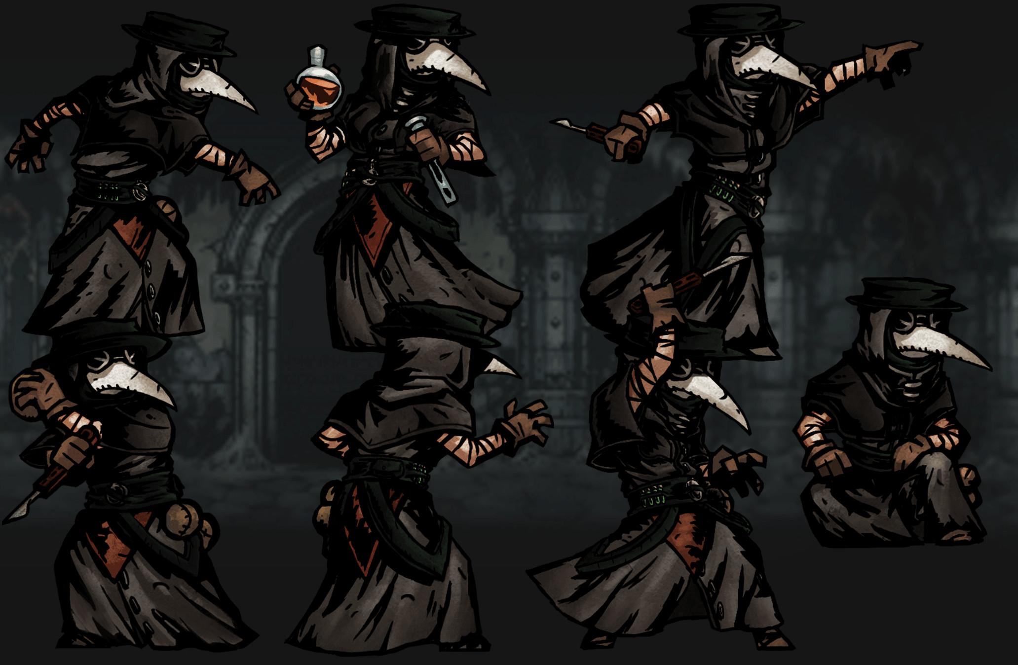 … Darkest Dungeon: Plague Doctor Desktop wallpapers