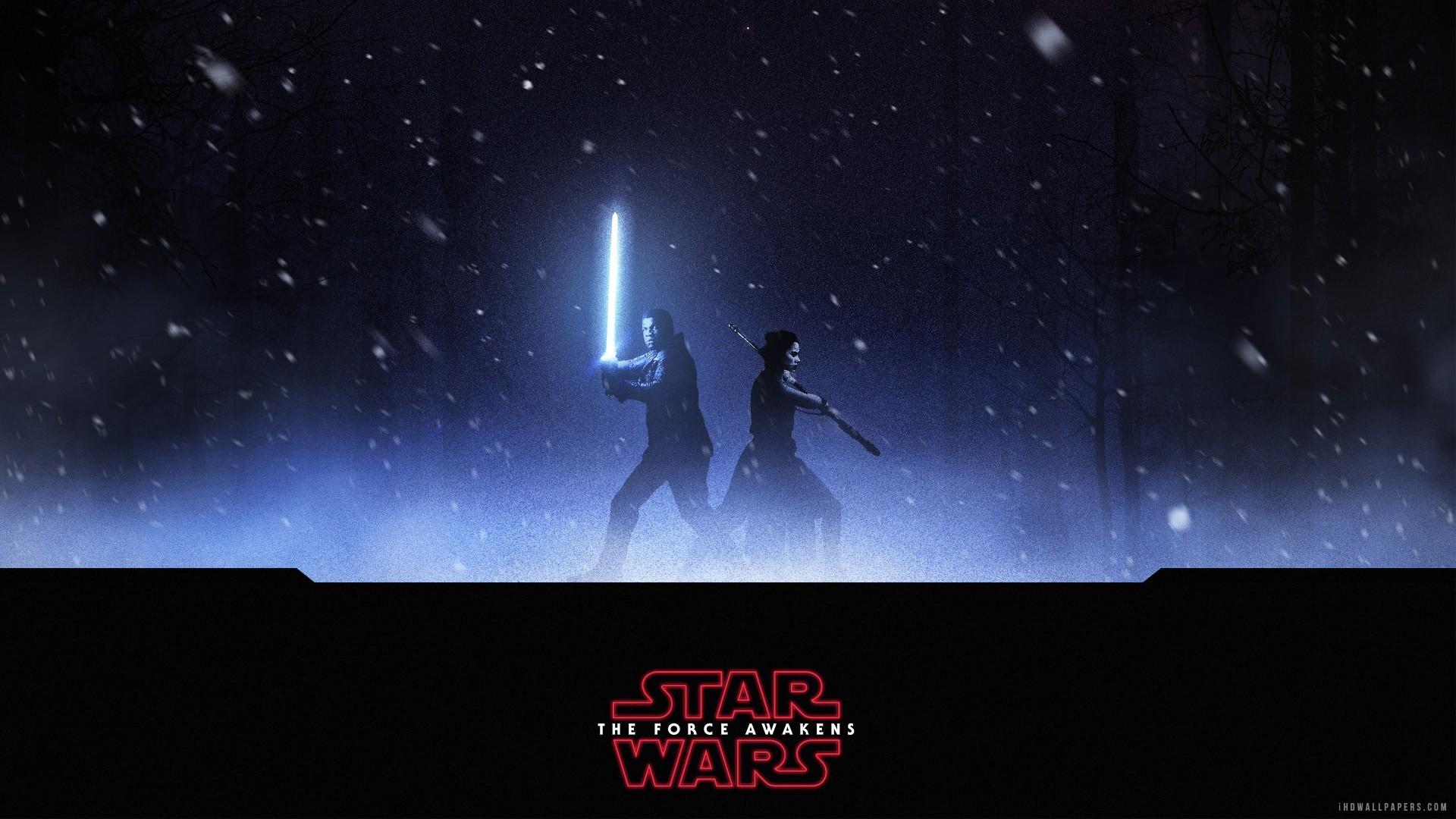 Finn Rey Star Wars The Force Awakens HD Wallpaper – iHD Wallpapers