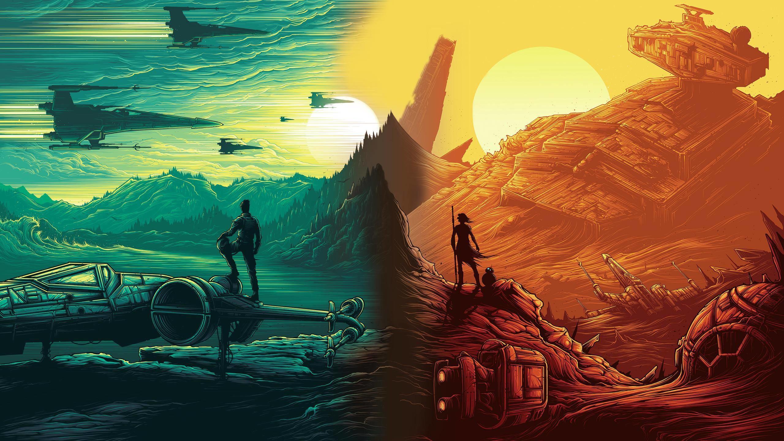 Star Wars Wallpapers Images For Desktop Wallpaper 2560 x 1440 px 1.08 MB  force return clone