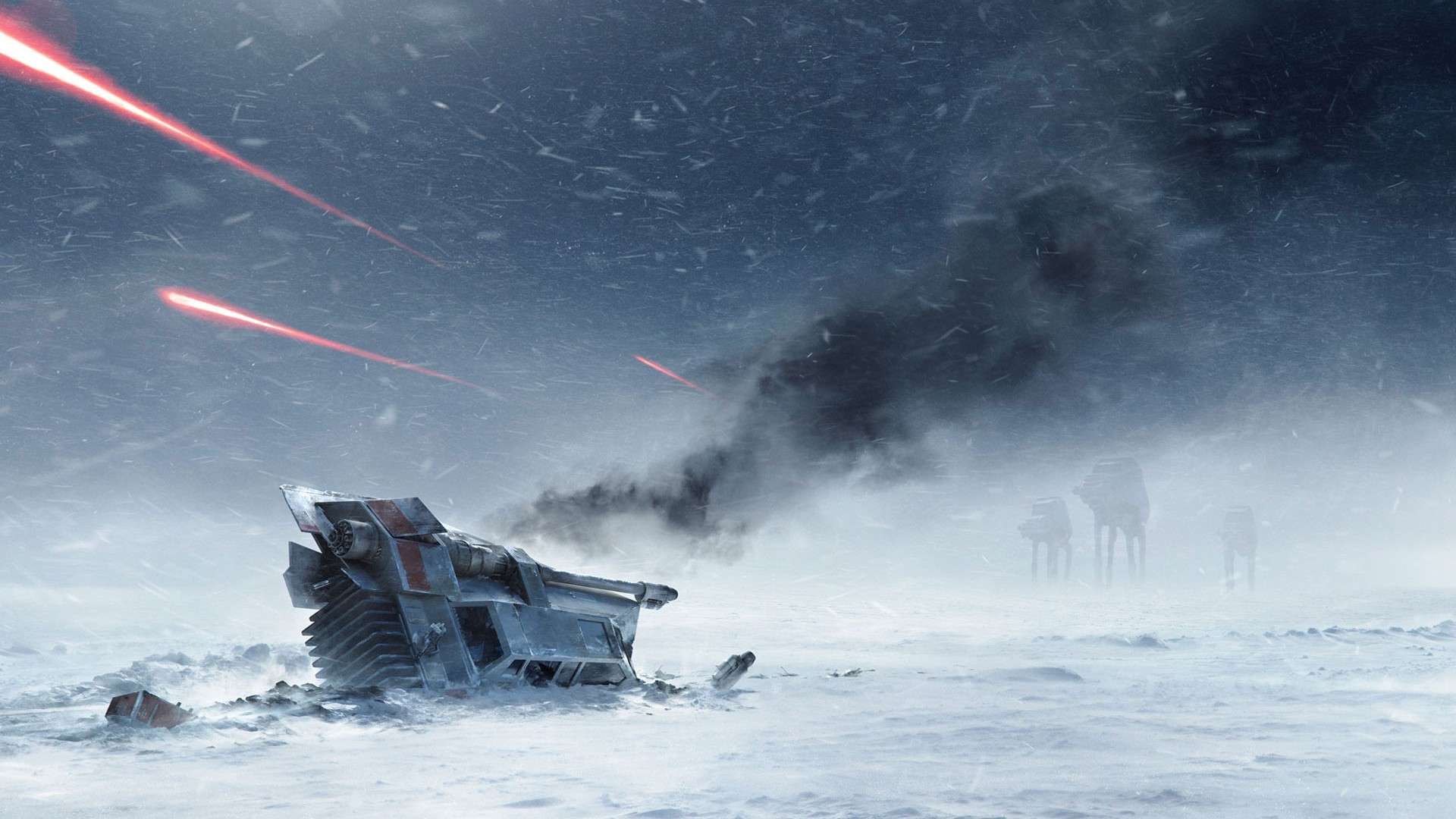 A Short But Awesome Collection of Star Wars Wallpapers