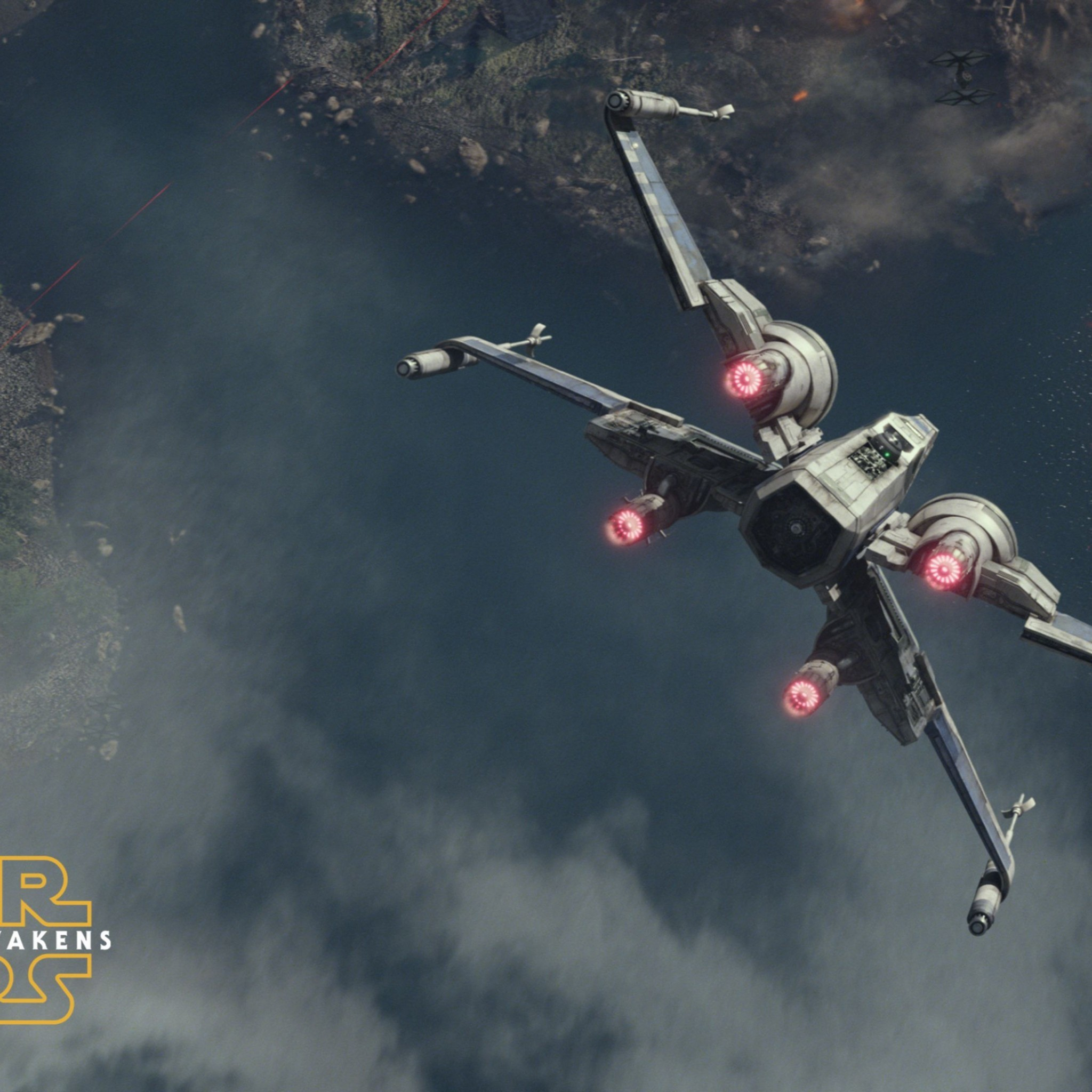 Best X-Wing Fighter Star Wars The Force Awakens 4K Wallpaper | Best Games  Wallpapers | Pinterest | Wibbly wobbly timey wimey and Starwars
