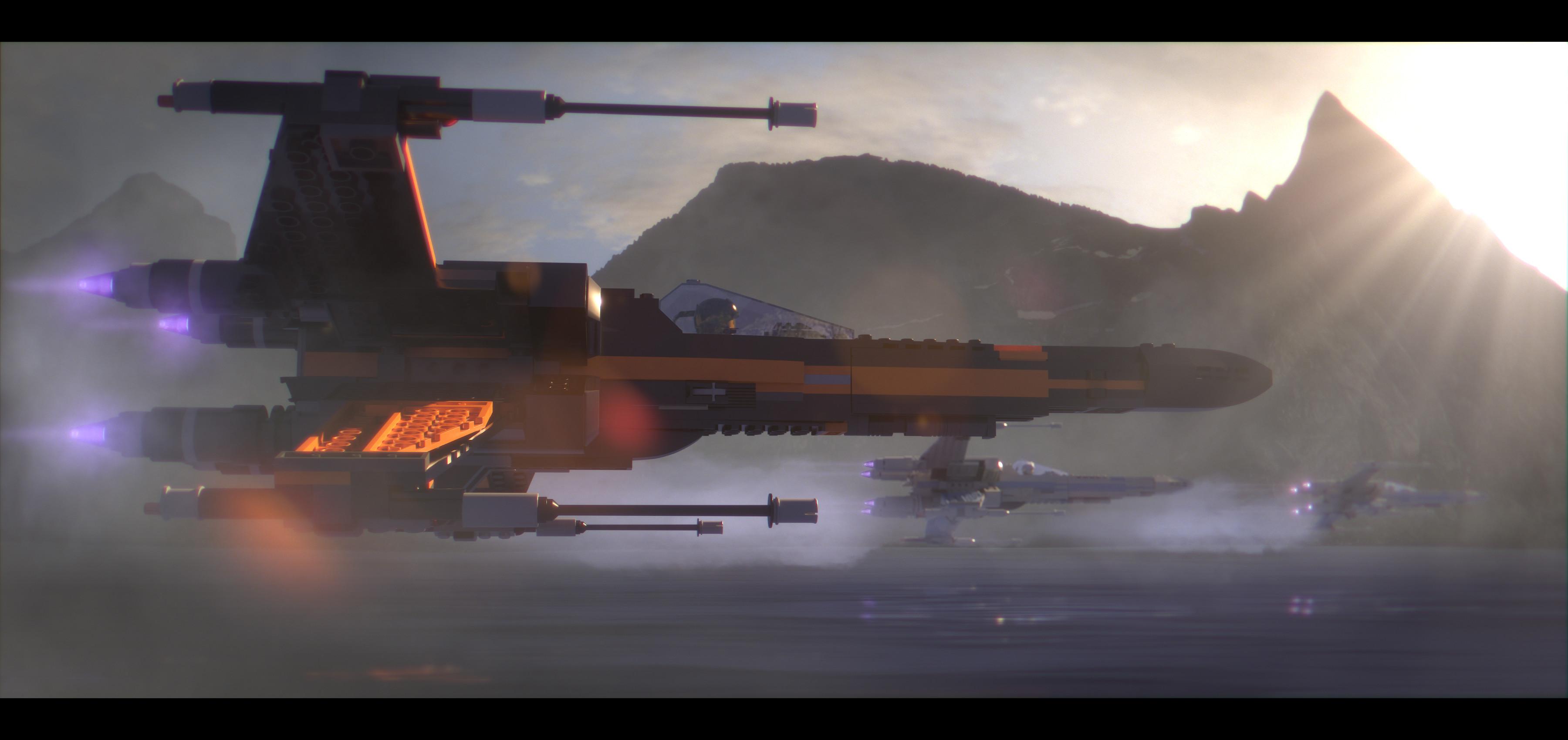 General Star Wars LEGO Star Wars X-wing spaceship LEGO LEGO Star  Wars The