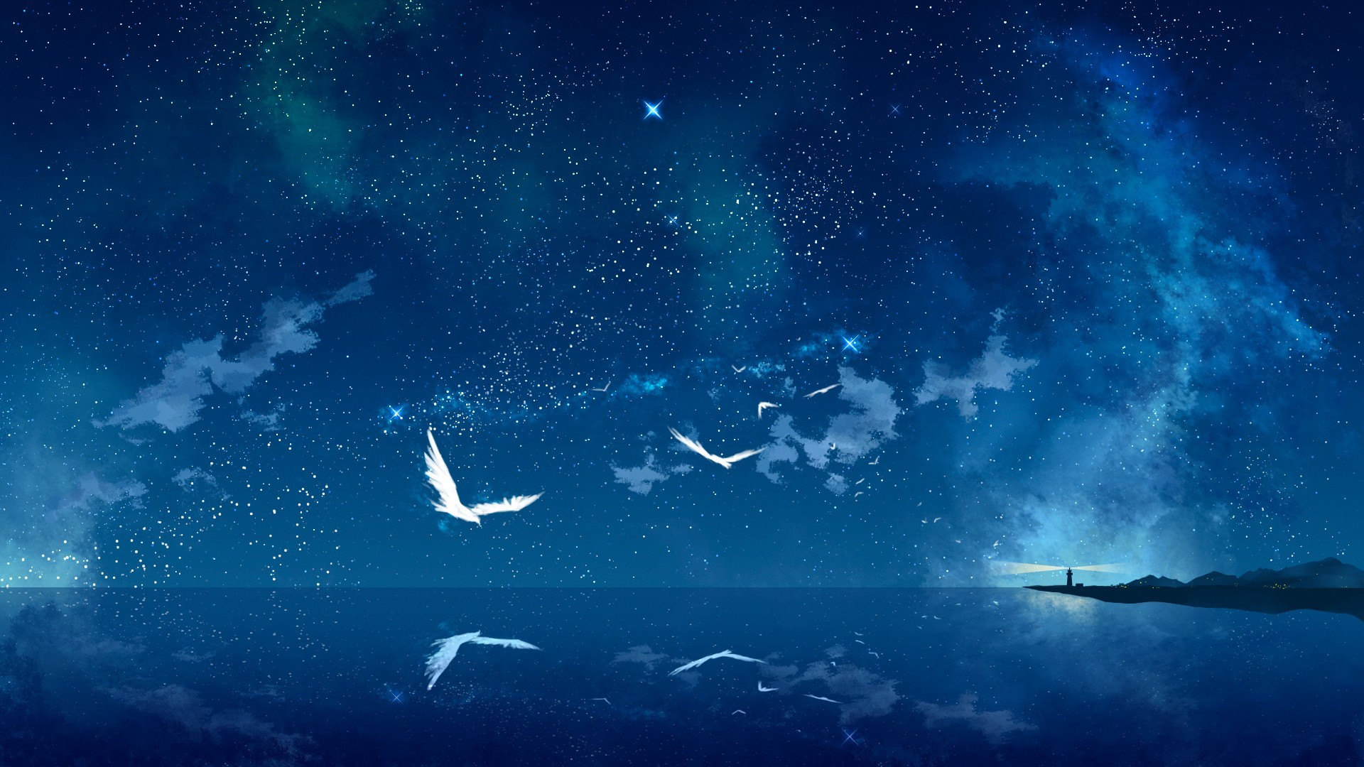 Night Sky Wallpaper night sky background wallpapers win10 themes #7046