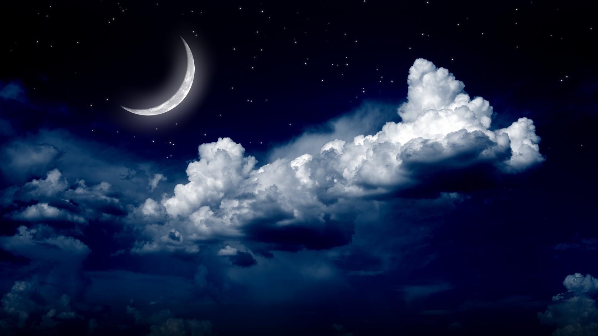 Title. Starry night sky …