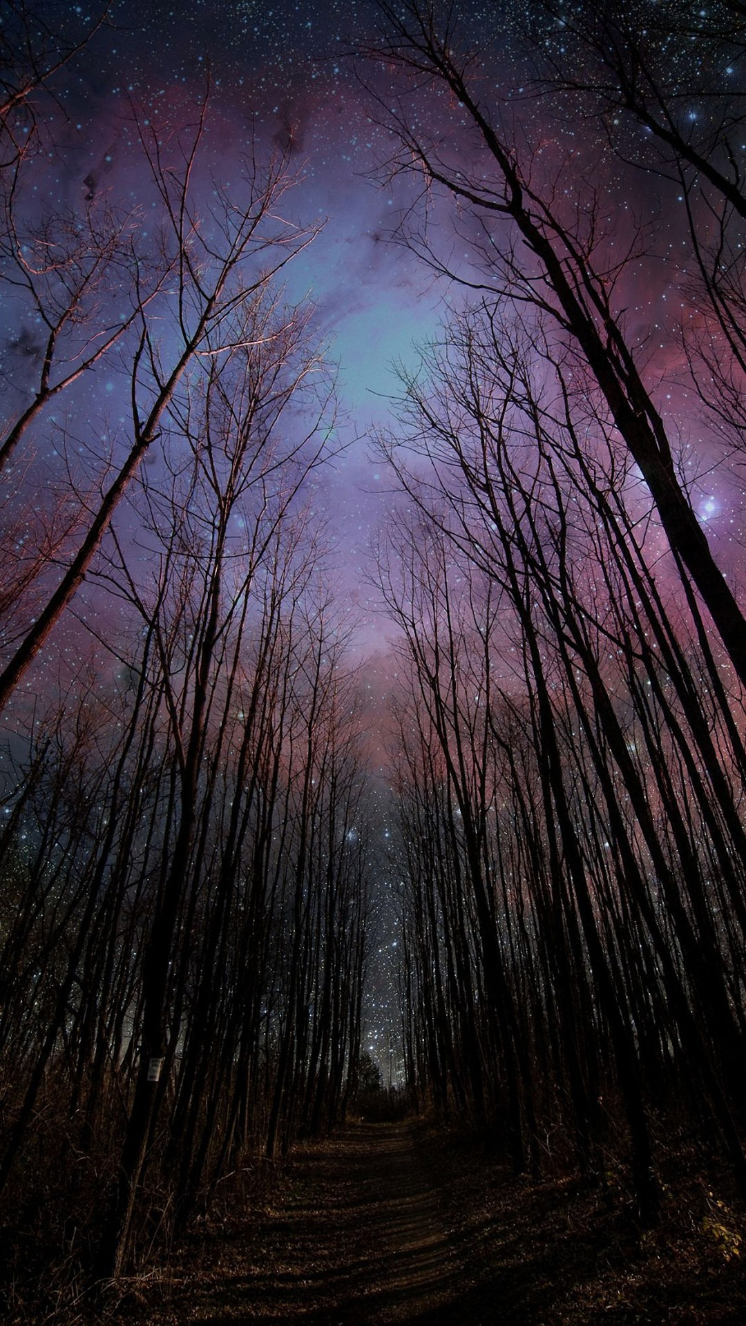 HD fantasy night sky iPhone 6 / 6s / Plus wallpapers, nature mobile  backgrounds download