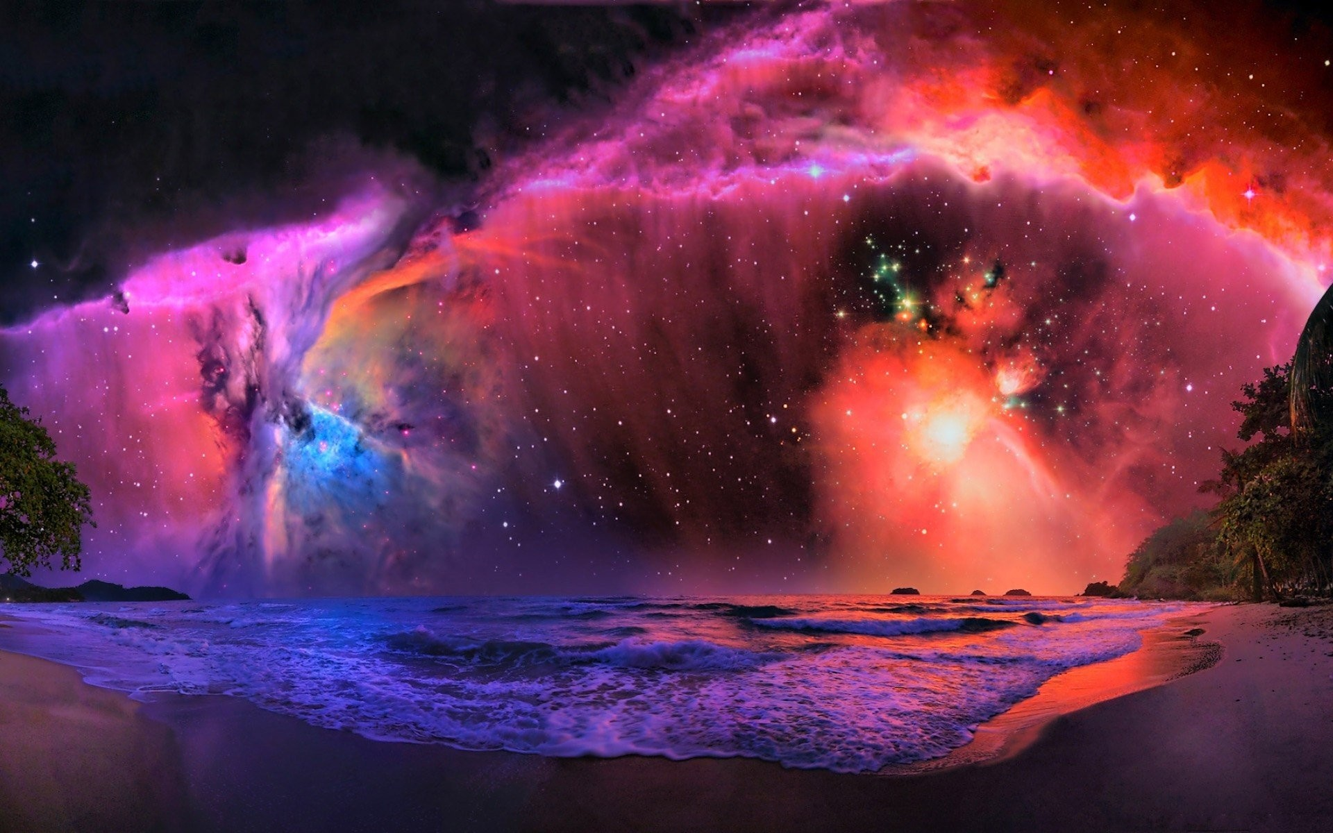 Wallpapers scenery pixel twitter high wallpaper tides galaxies galaxy large.