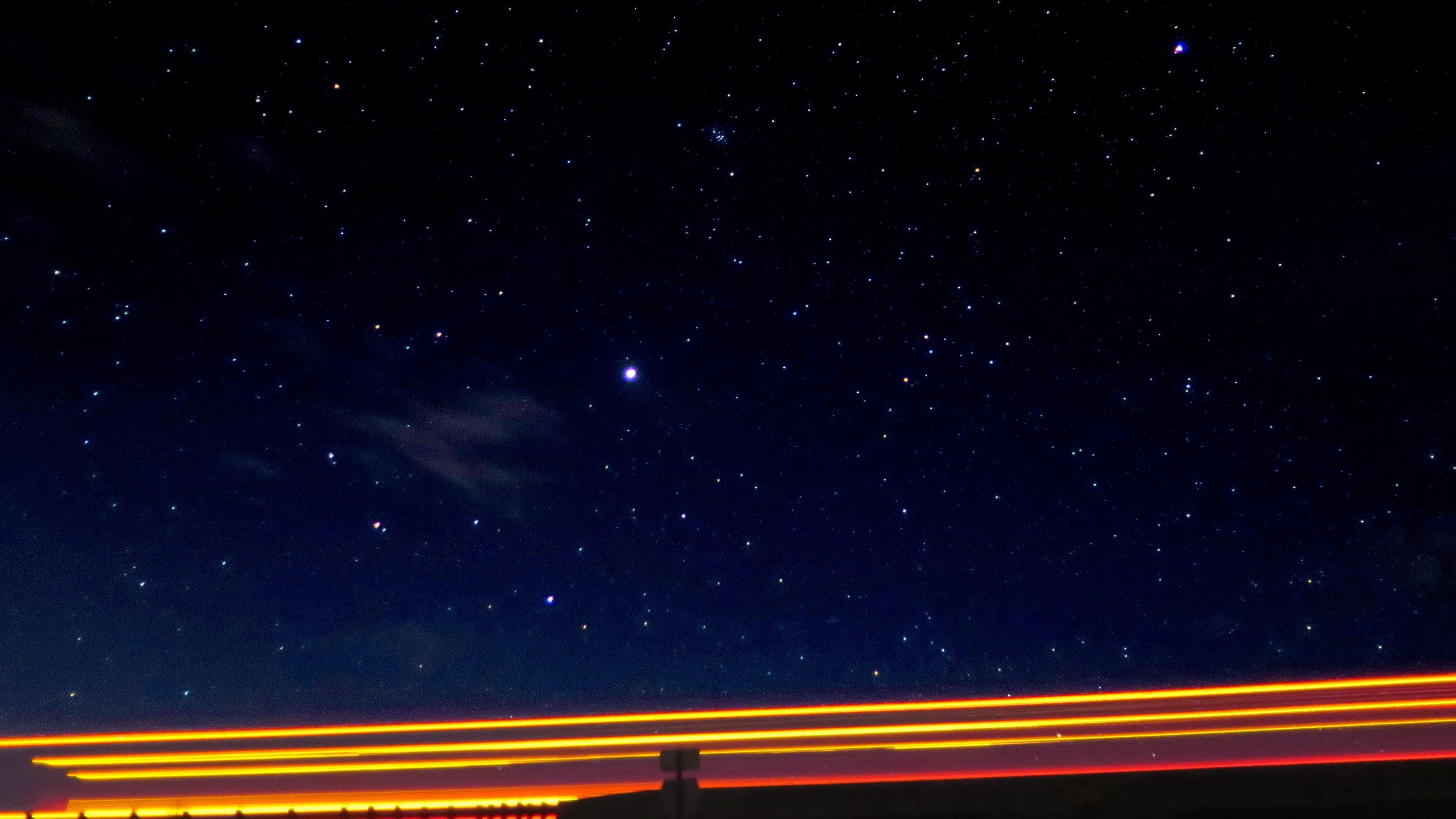 Wallpaper starry sky, night, sky