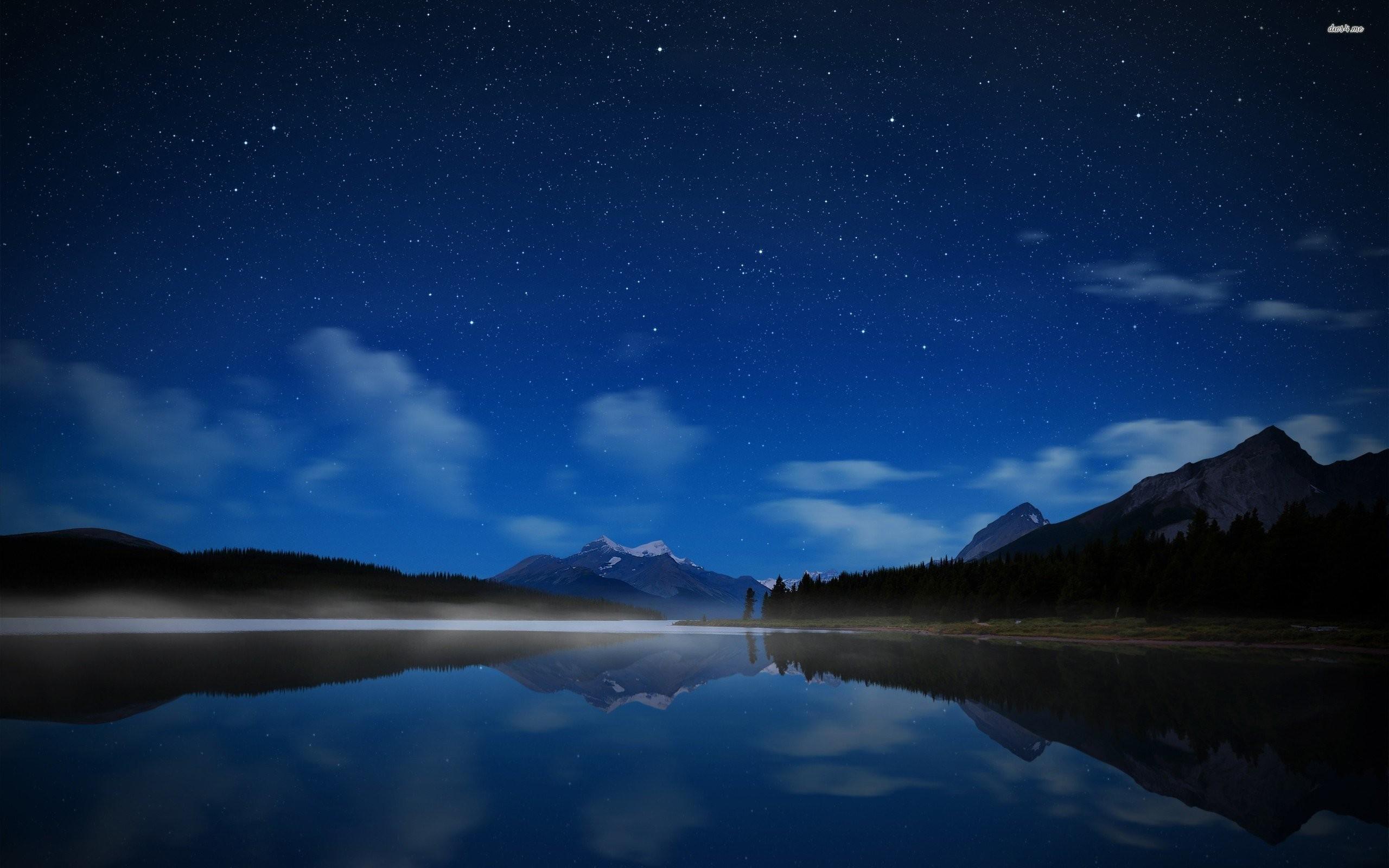 Star Filled Night Sky Wallpaper – WallDevil