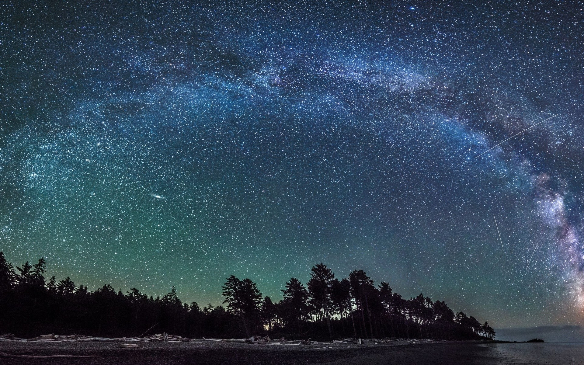 beautiful night sky. Â«Â«