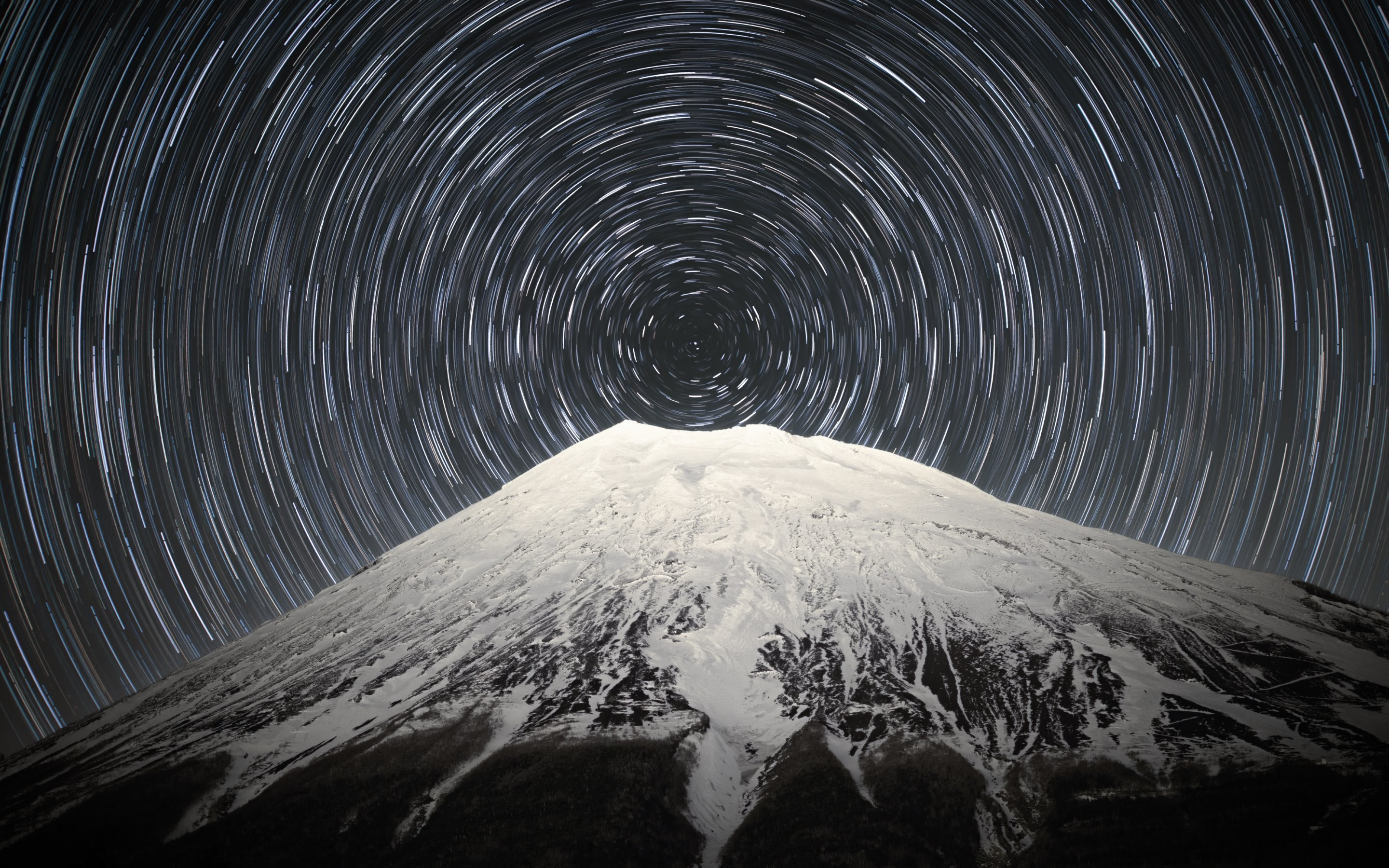 Sky full of stars above Mount Fuji Wallpapers :: HD Wallpapers