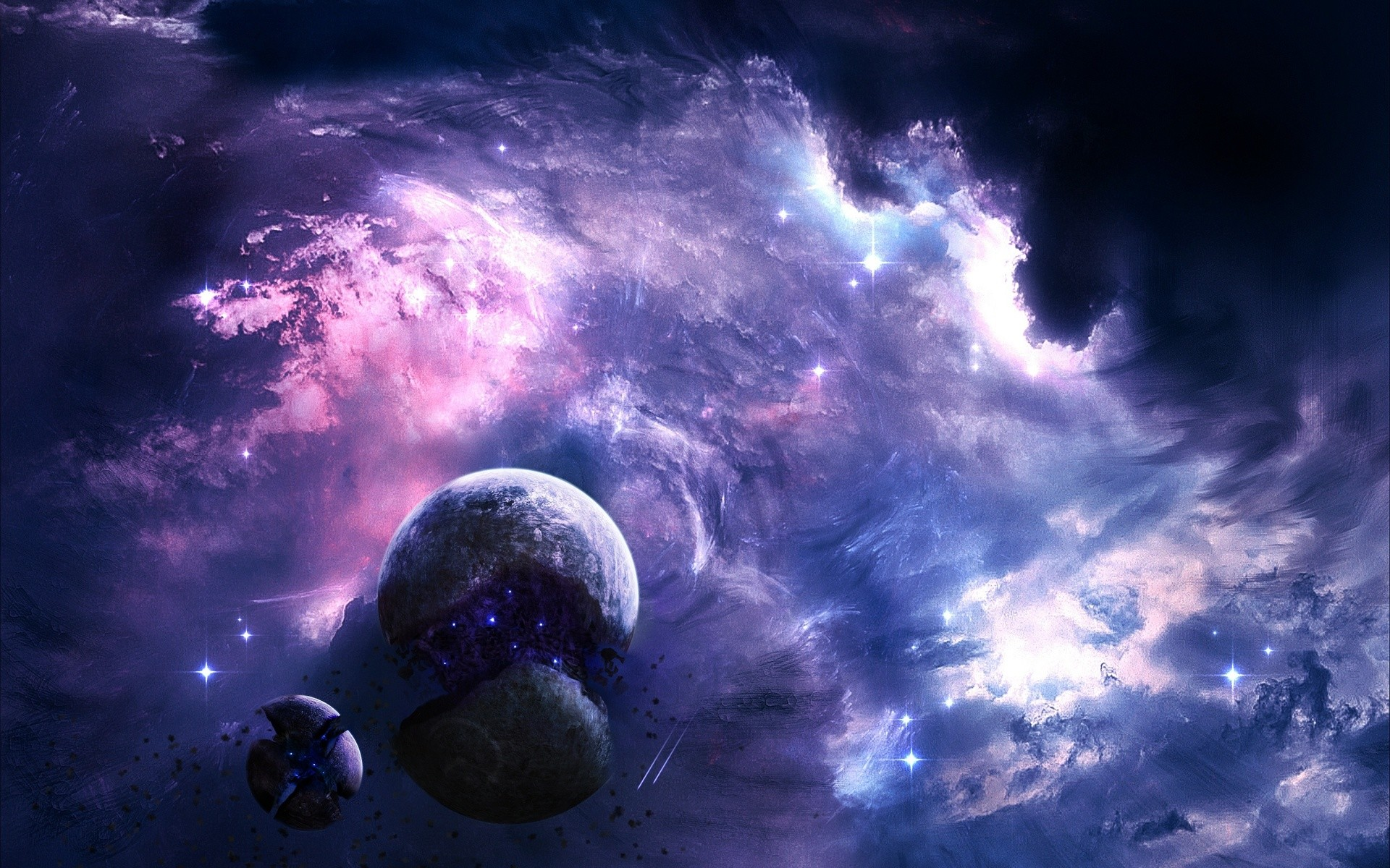 Abstract Wallpaper Galaxy Free High Resolution