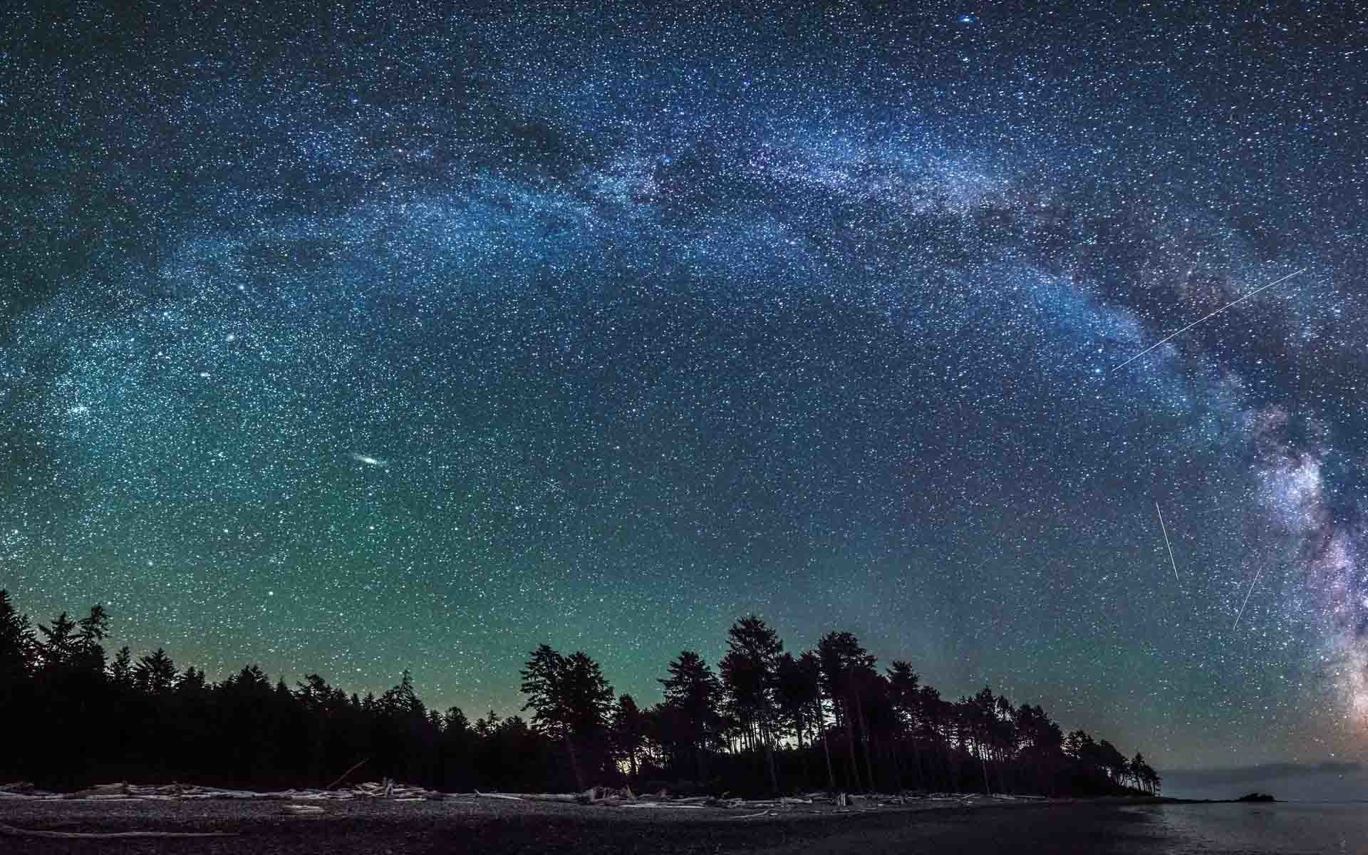 Starry Night wallpapers (17 Wallpapers)