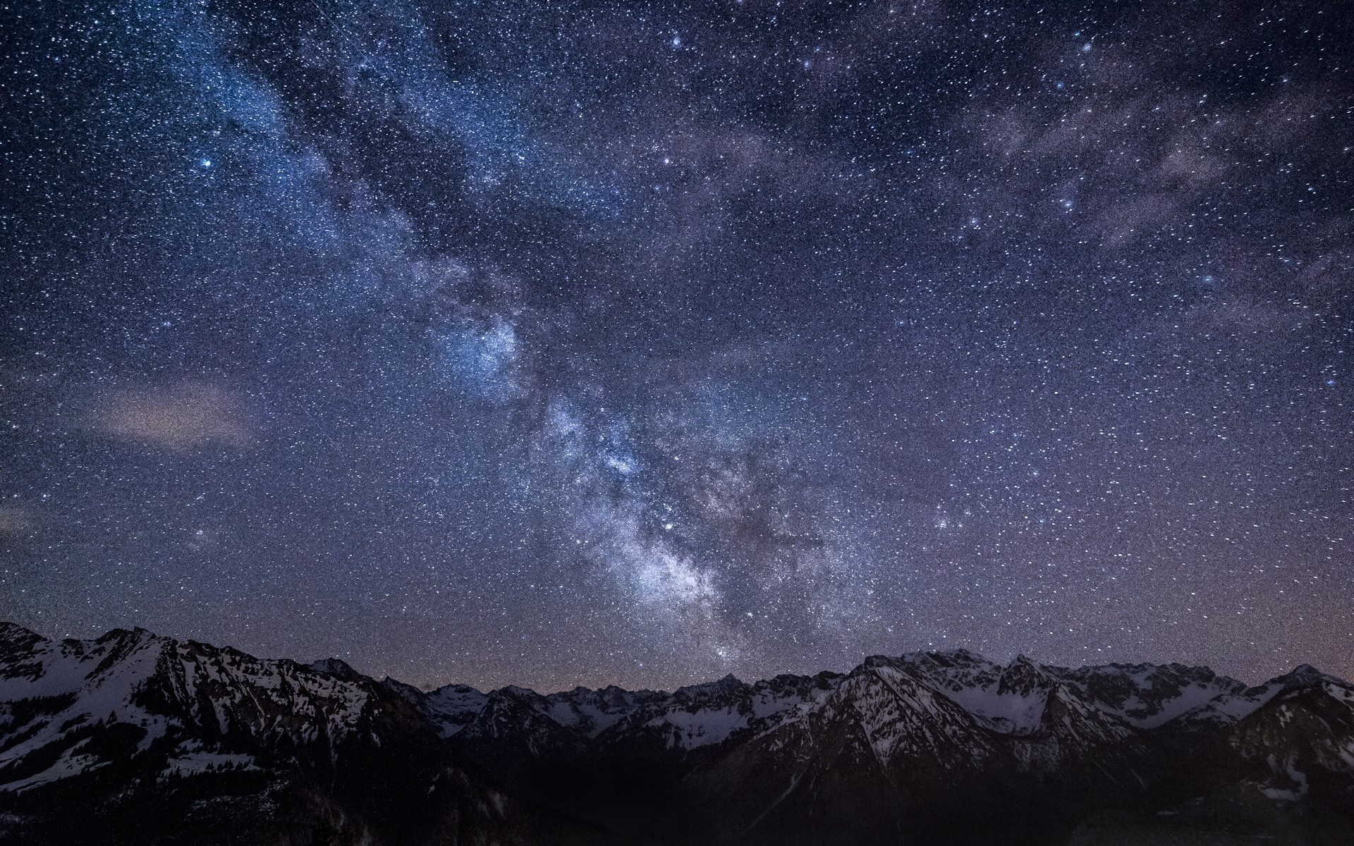 stars, Night, Landscape, Starry Night, Mountain, Long Exposure, Galaxy  Wallpapers HD / Desktop and Mobile Backgrounds